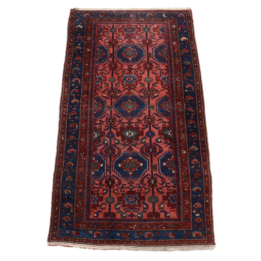 Hand-Knotted Persian Wool Rug