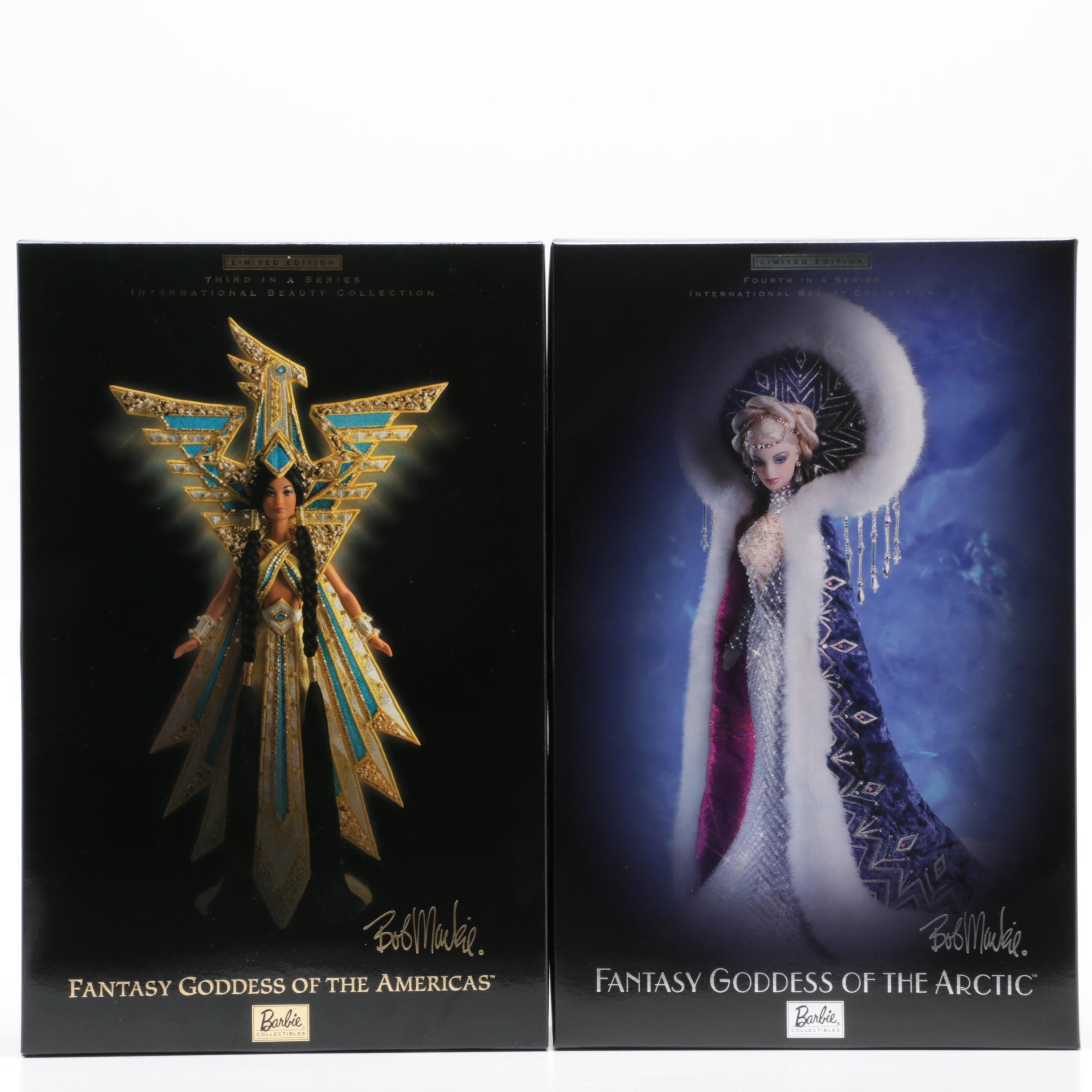 "Barbie by Bob Mackie ""Fantasy Goddess"" Dolls"