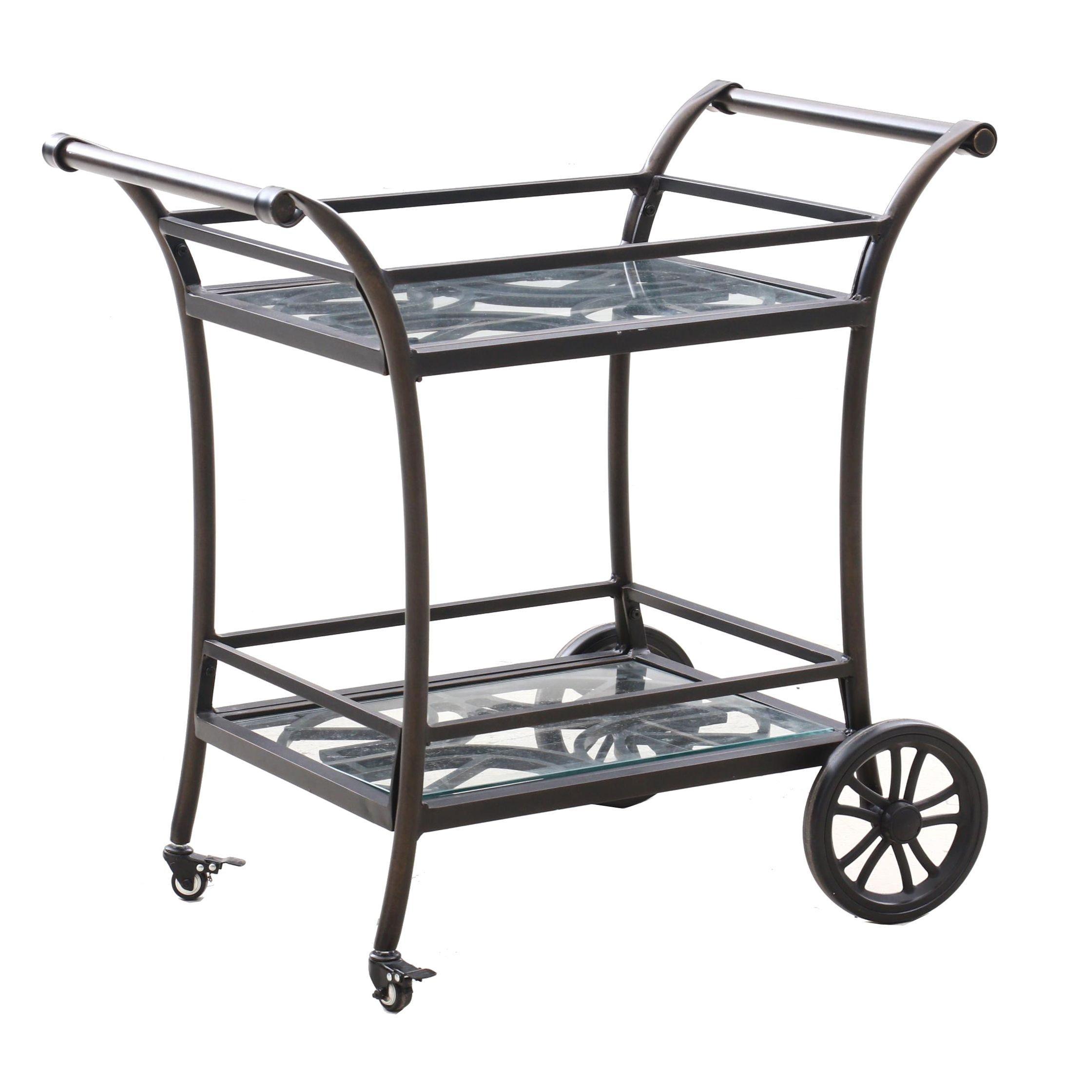 Metal Serving Cart
