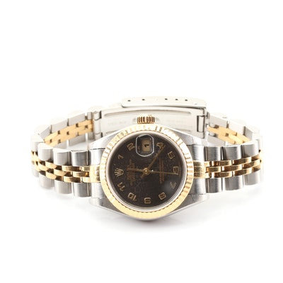 Rolex Datejust 18K Gold and Stainless Steel Automatic Wristwatch, 1994