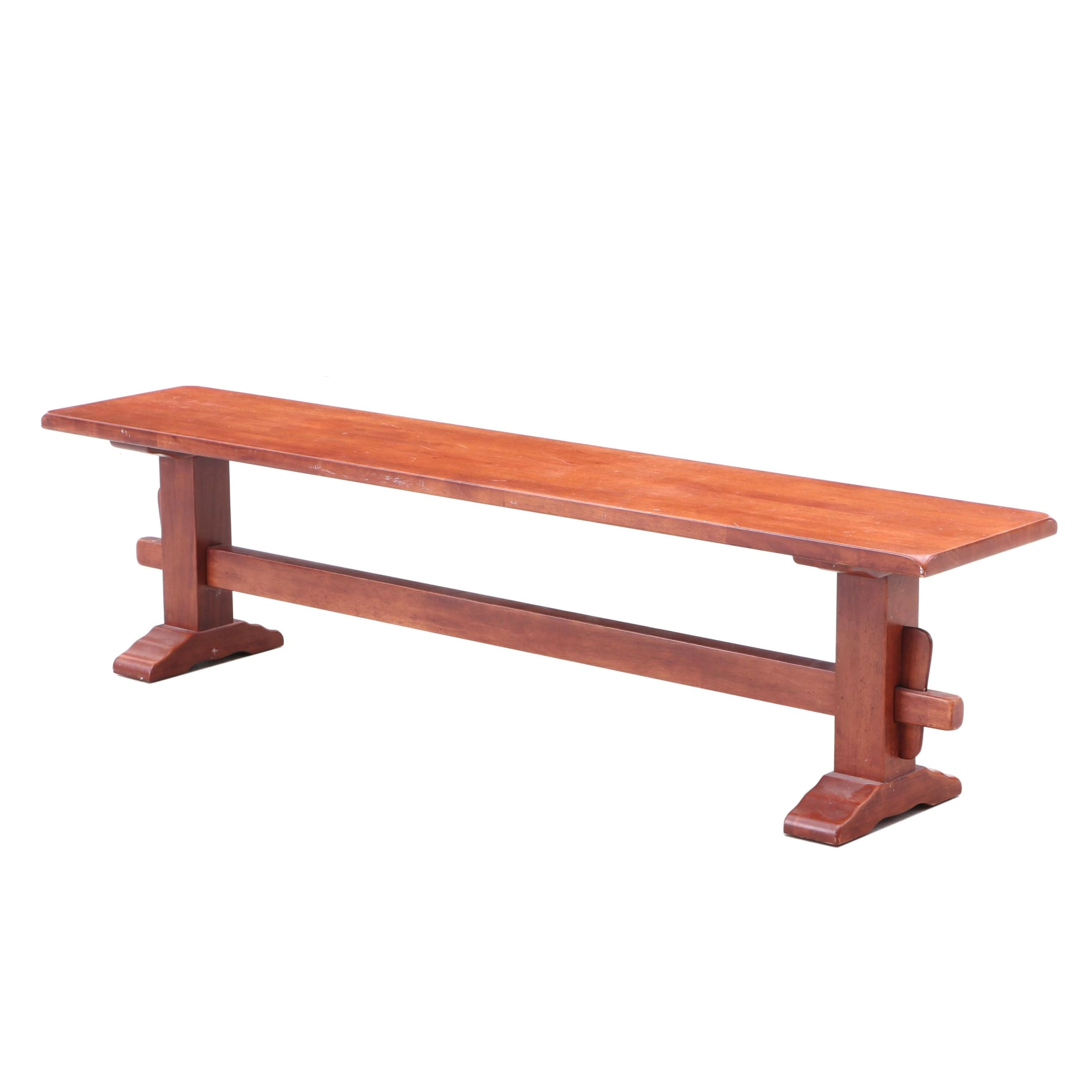 World Market Alder Bench, Contemporary