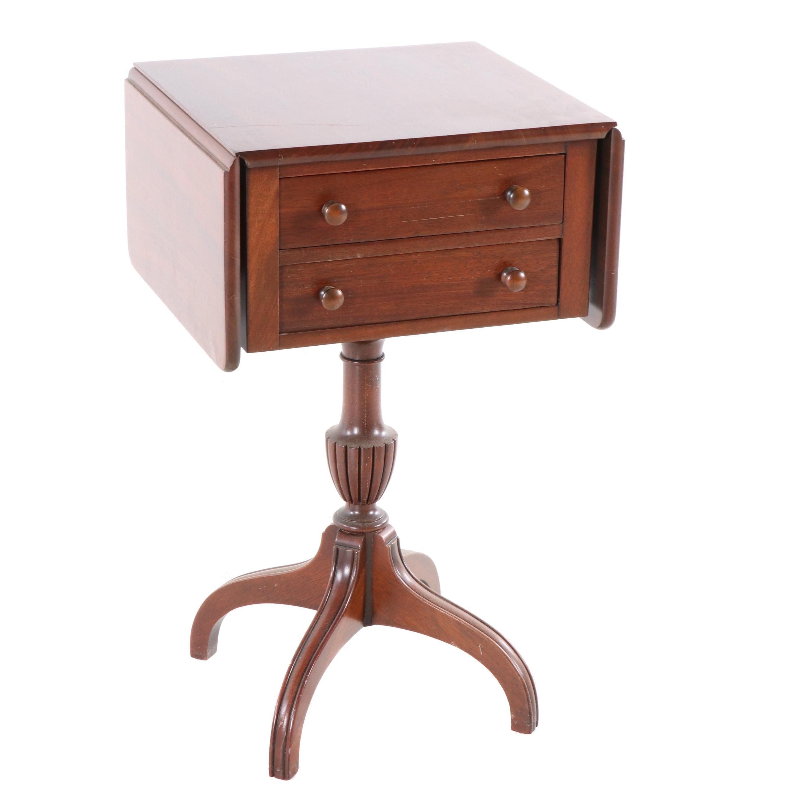 Mahogany Smoking Table, Early 20th Century