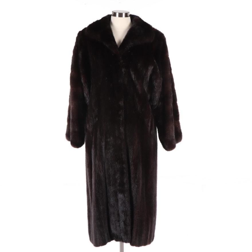 aba35942d Women's Dark Mahogany Mink Fur Coat, Vintage | EBTH