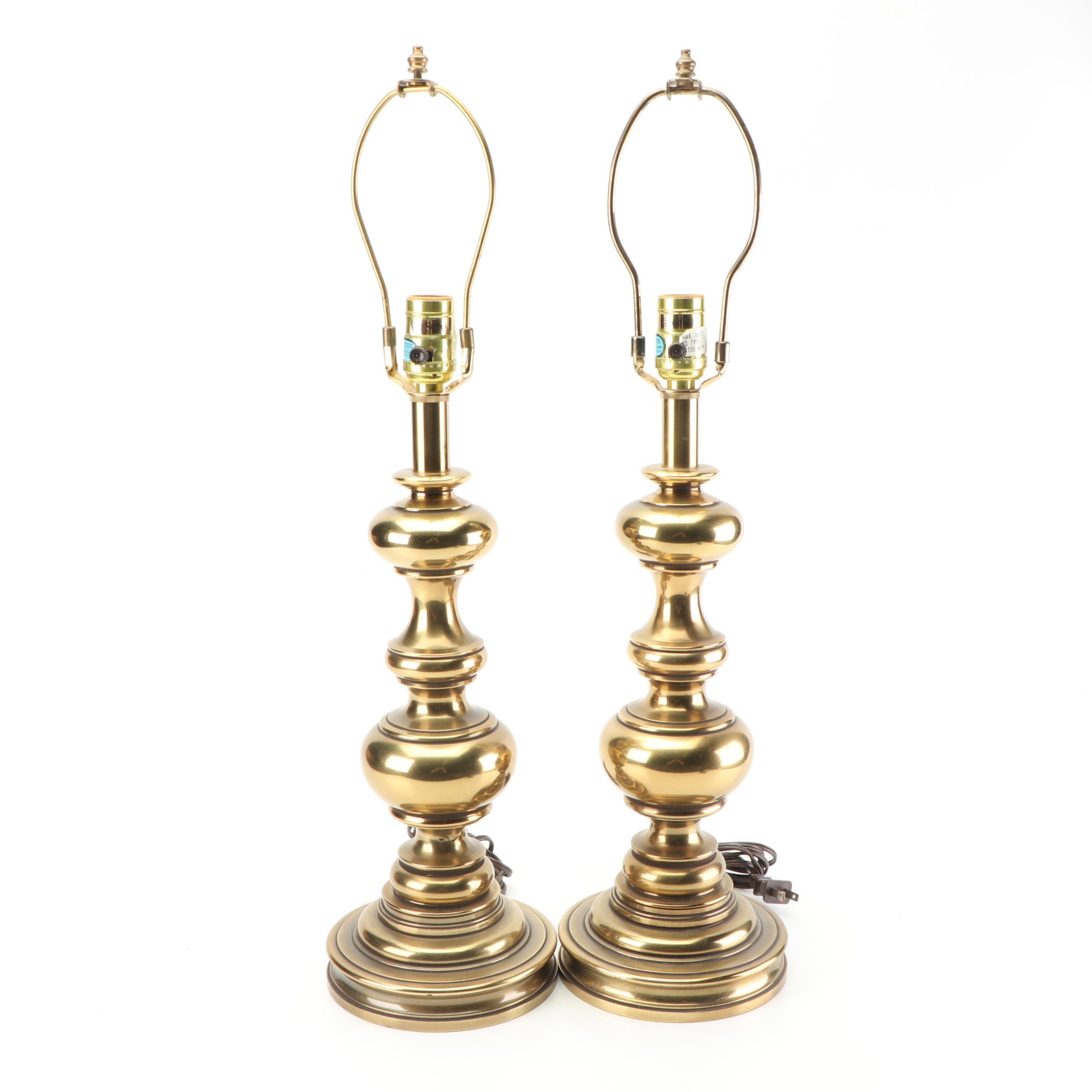 Stiffel Brass Table Lamps