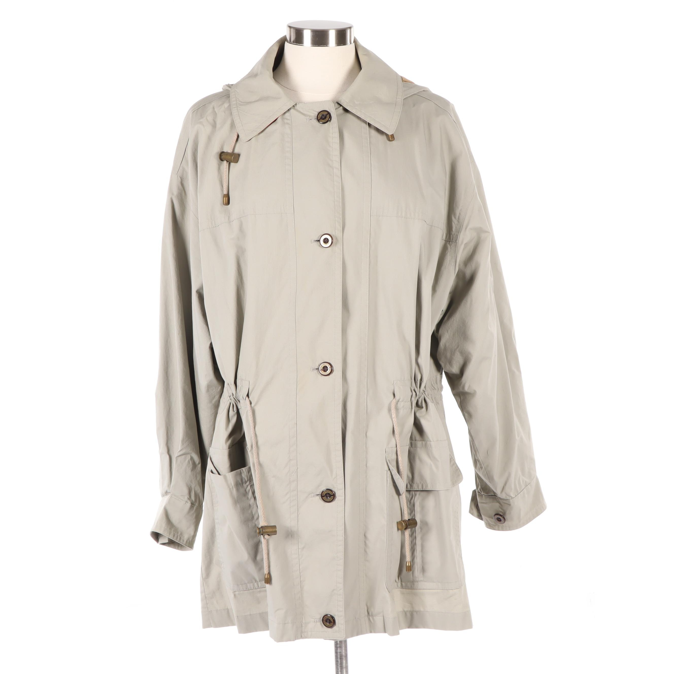 Women's Burberrys of London Jacket with Removable Hood