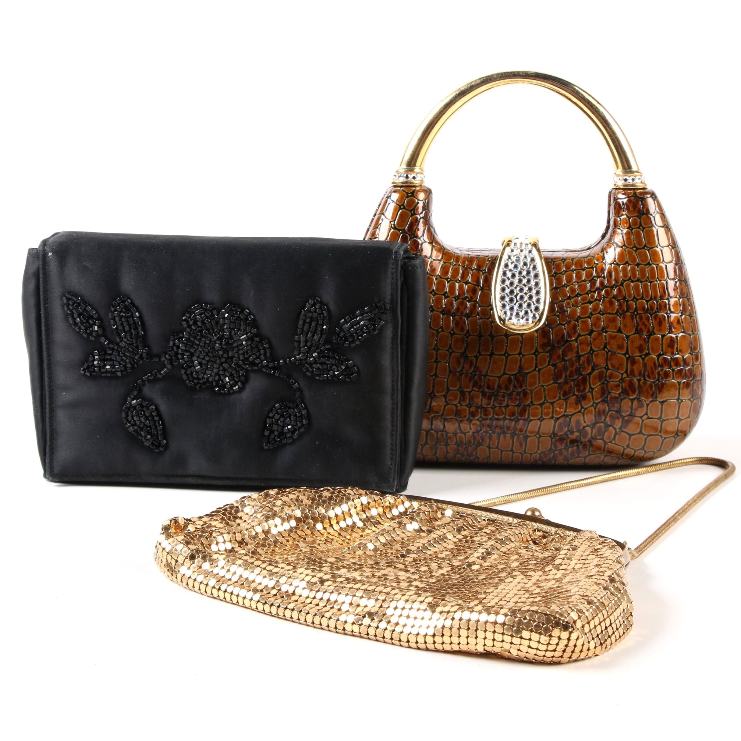 Evening Bags Including Vintage Lujean and Carson Pirie Scott & Co.