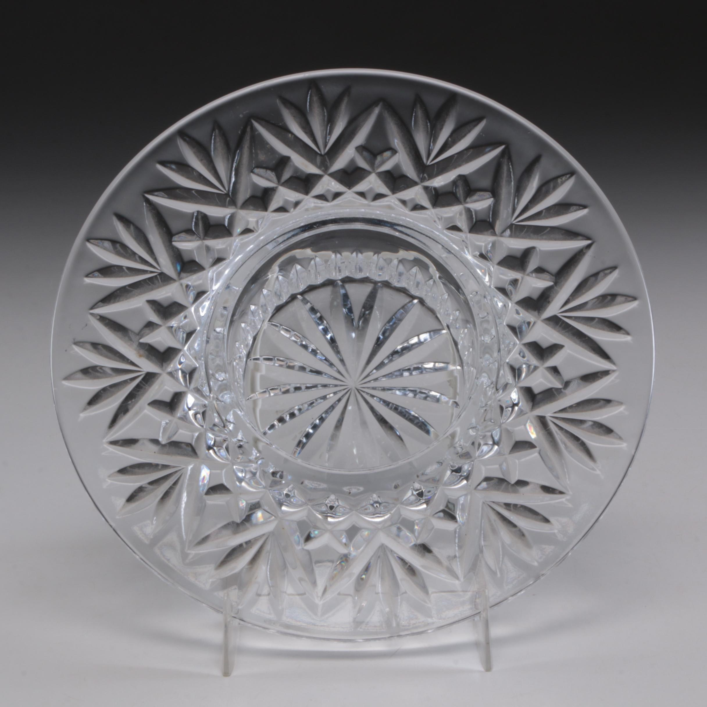 """Waterford Crystal """"Bethany"""" Candleholder"""