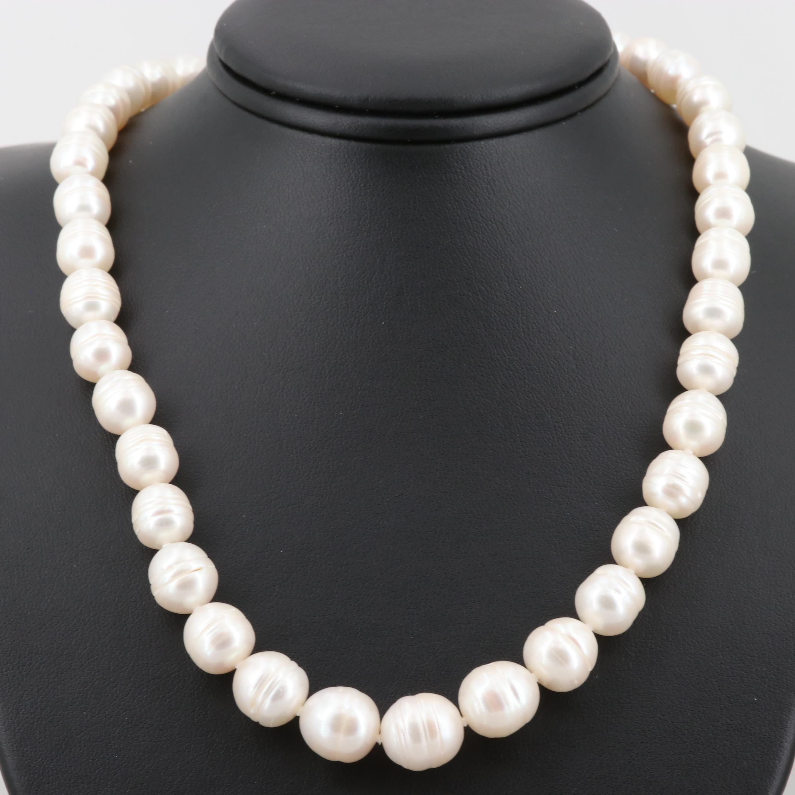 Honora Sterling Silver Cultured Pearl Necklace