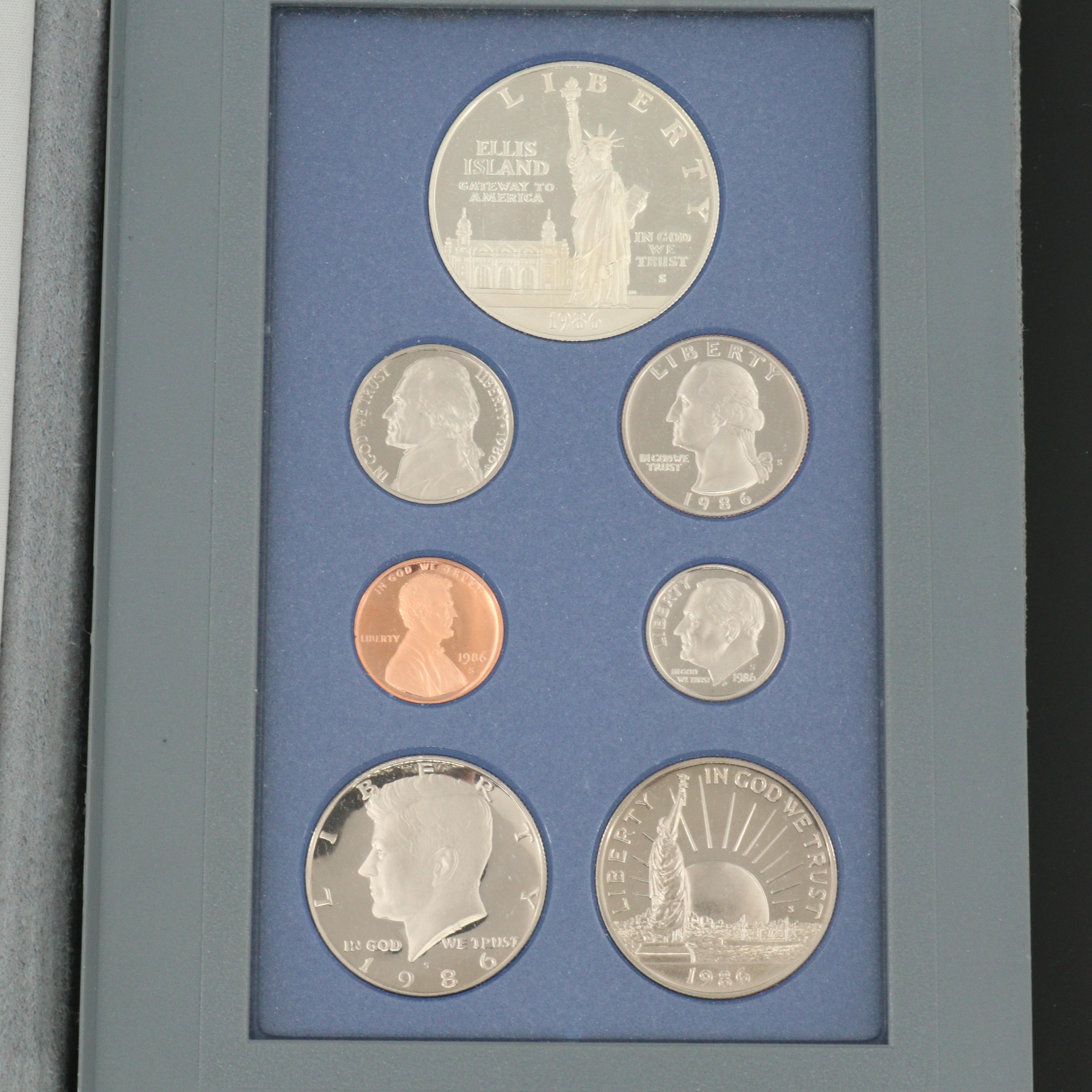 U.S. Mint 1986 Prestige Proof Set