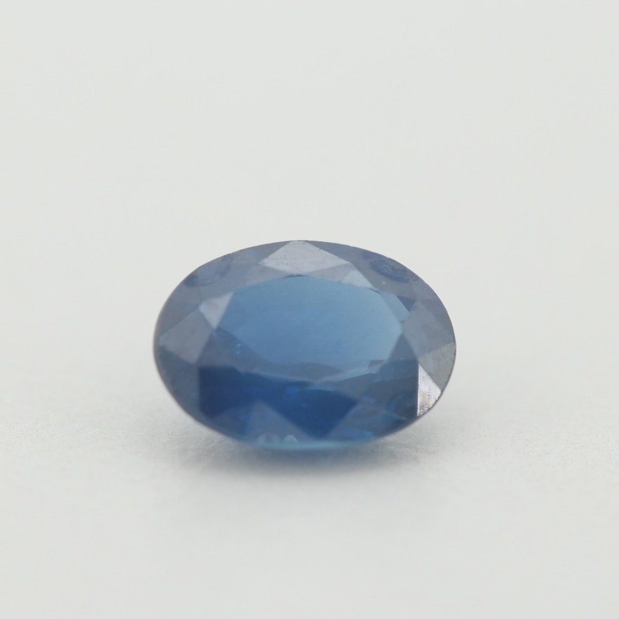 Loose 1.13 CT Sapphire Gemstone