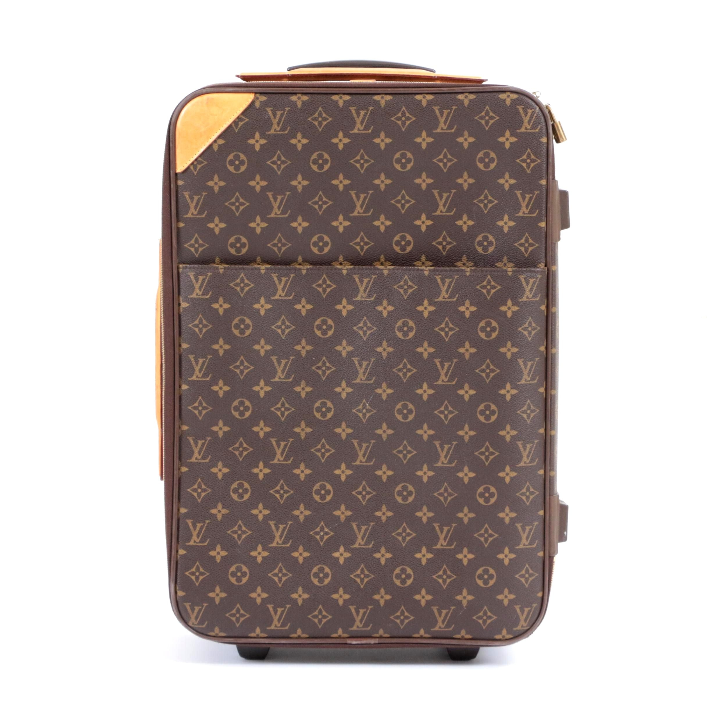 Louis Vuitton Monogram Canvas Pégase 55 Business Suitcase