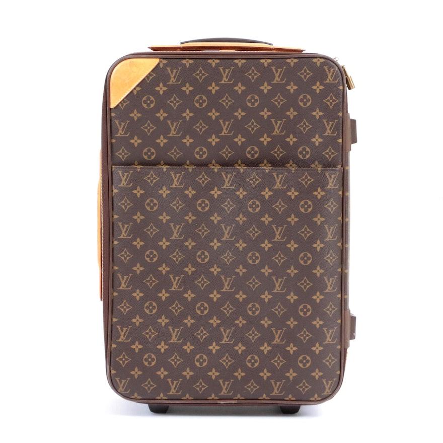 Louis Vuitton Monogram Canvas Pégase 55 Business Suitcase