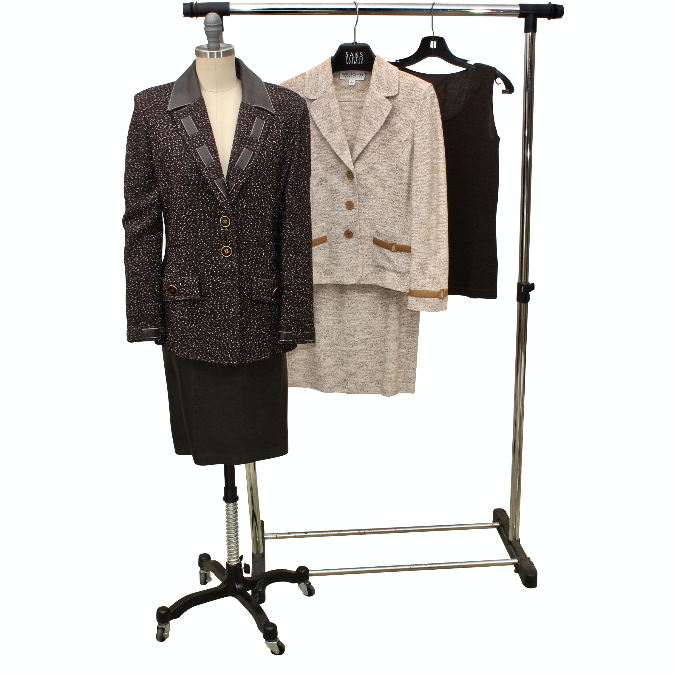 St. John and Lafayette 148 Women's Skirt Suit and Separates
