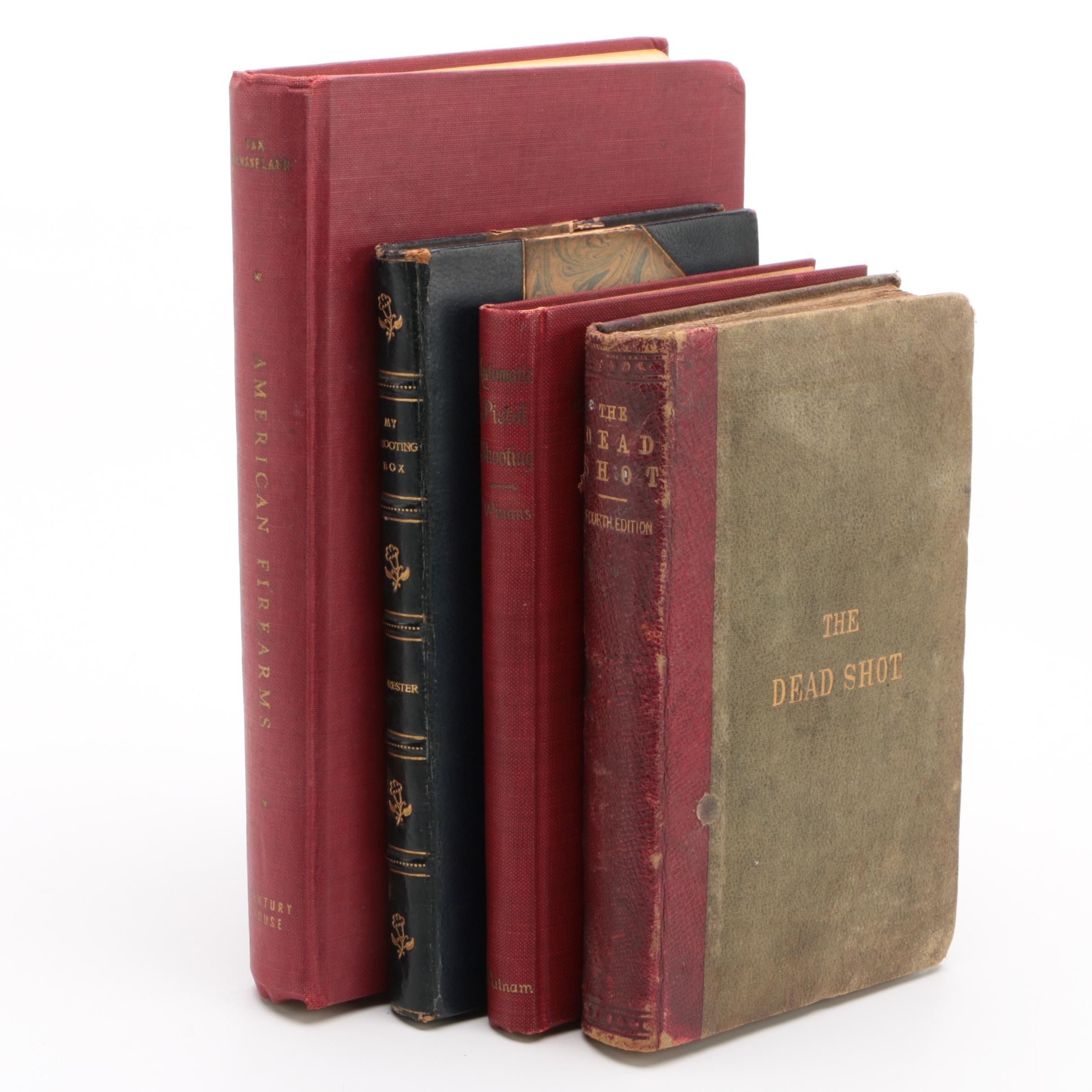 """""""The Dead Shot"""" and Other Antique Firearms Books"""