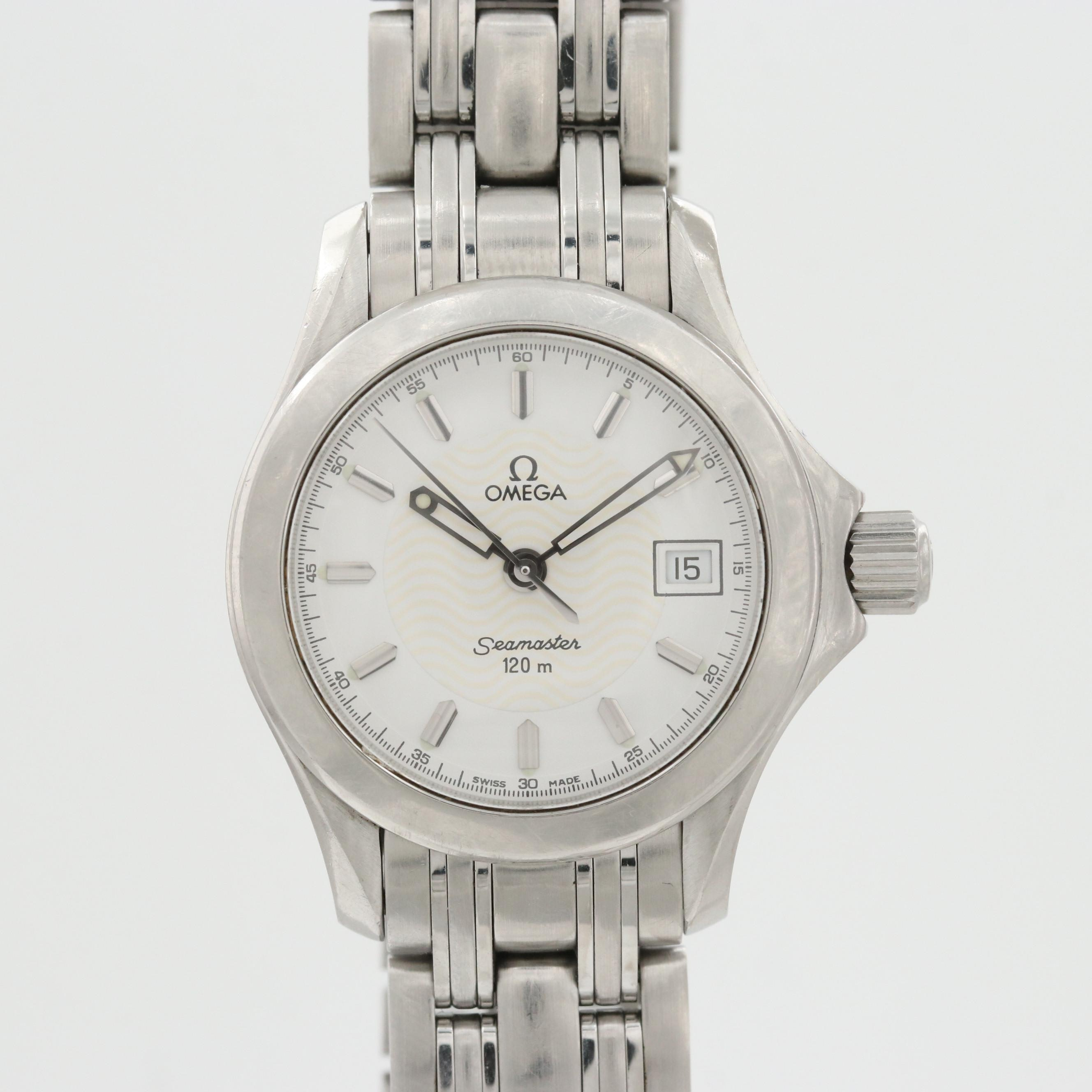 Omega Seamaster 120 Stainless Steel Quartz Wristwatch