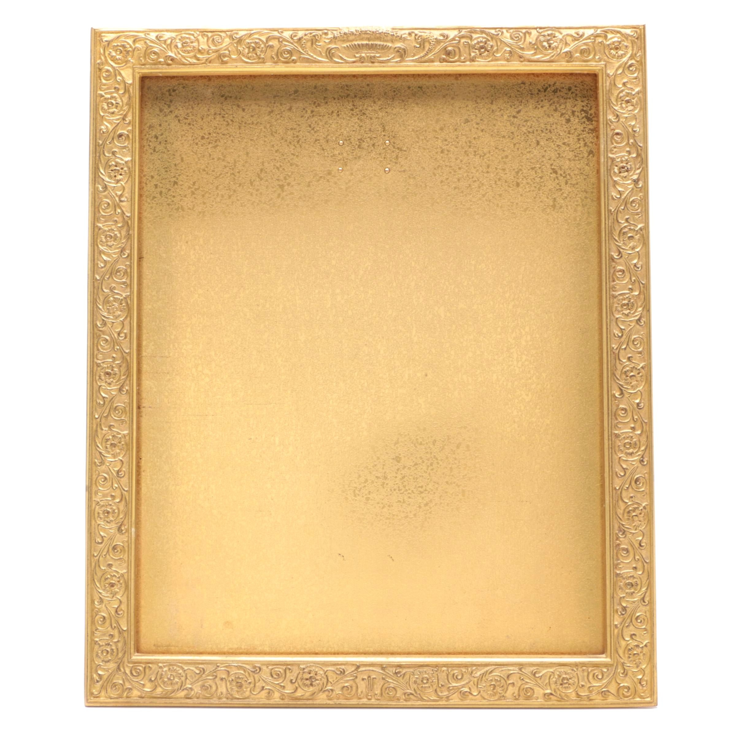 Tiffany Studios Gilt Bronze Table Top Picture Frame