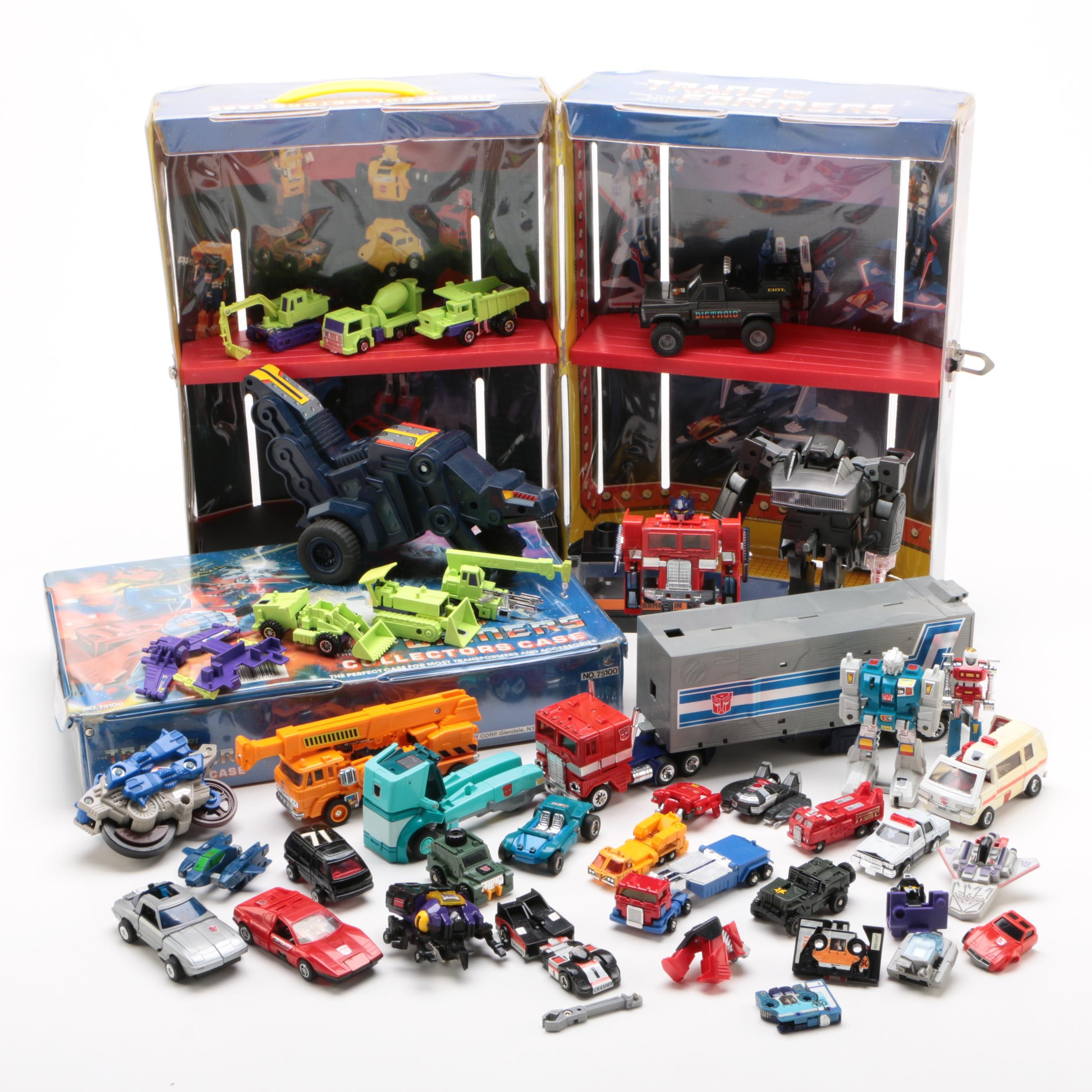 Transformers Action Figure Collectors Cases