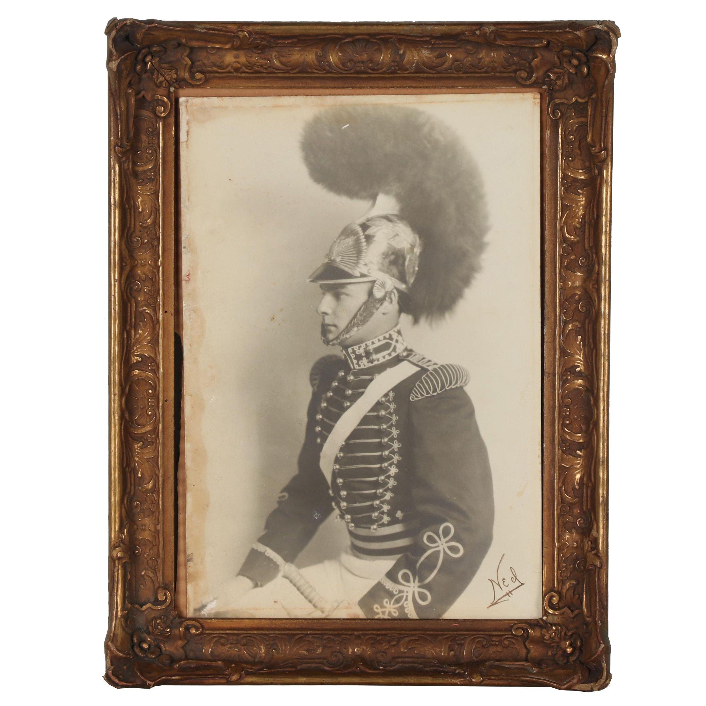 First Troop Philadelphia City Cavalry Silver Gelatin Portrait