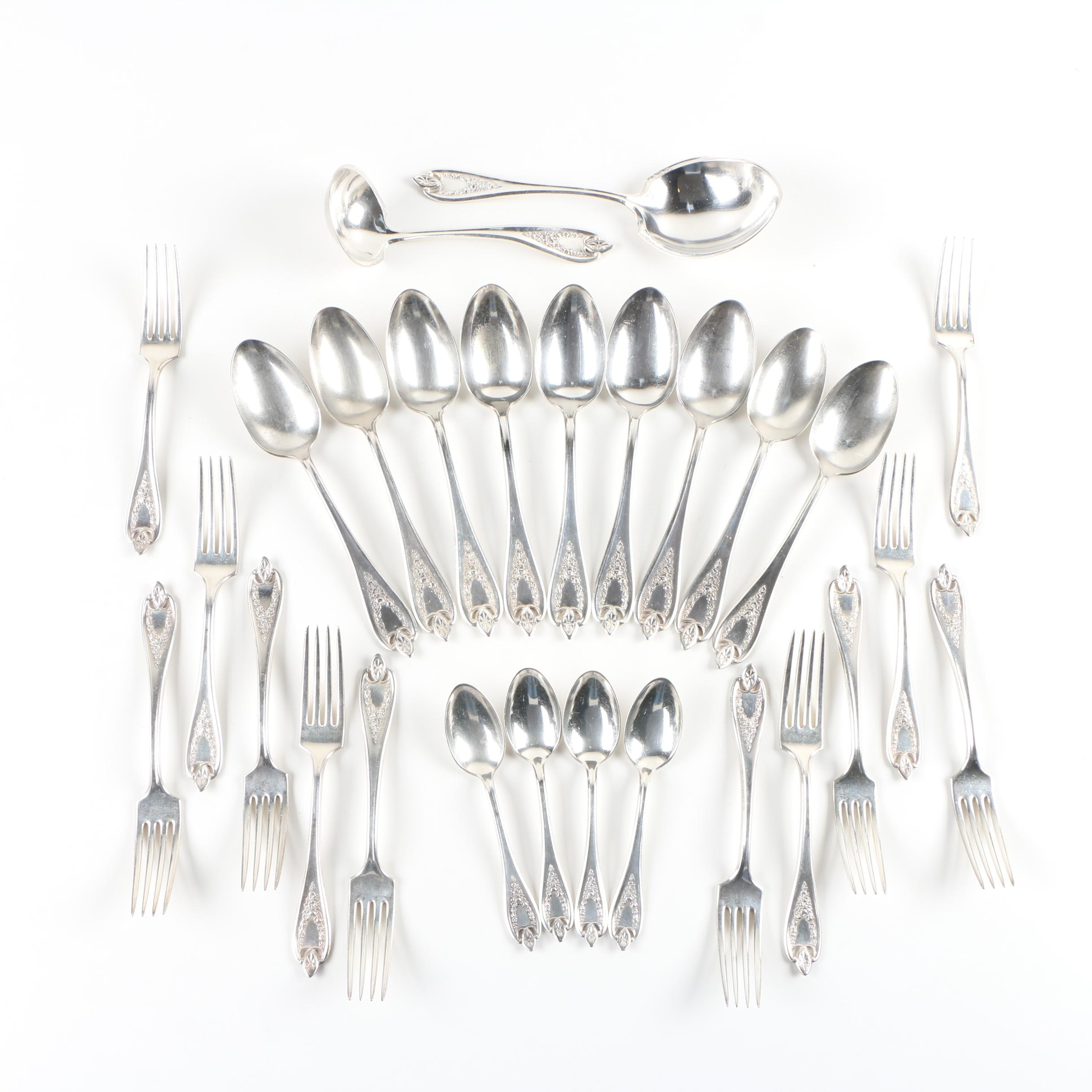 "Rogers Bros ""Old Colony"" Silver Plate Flatware"