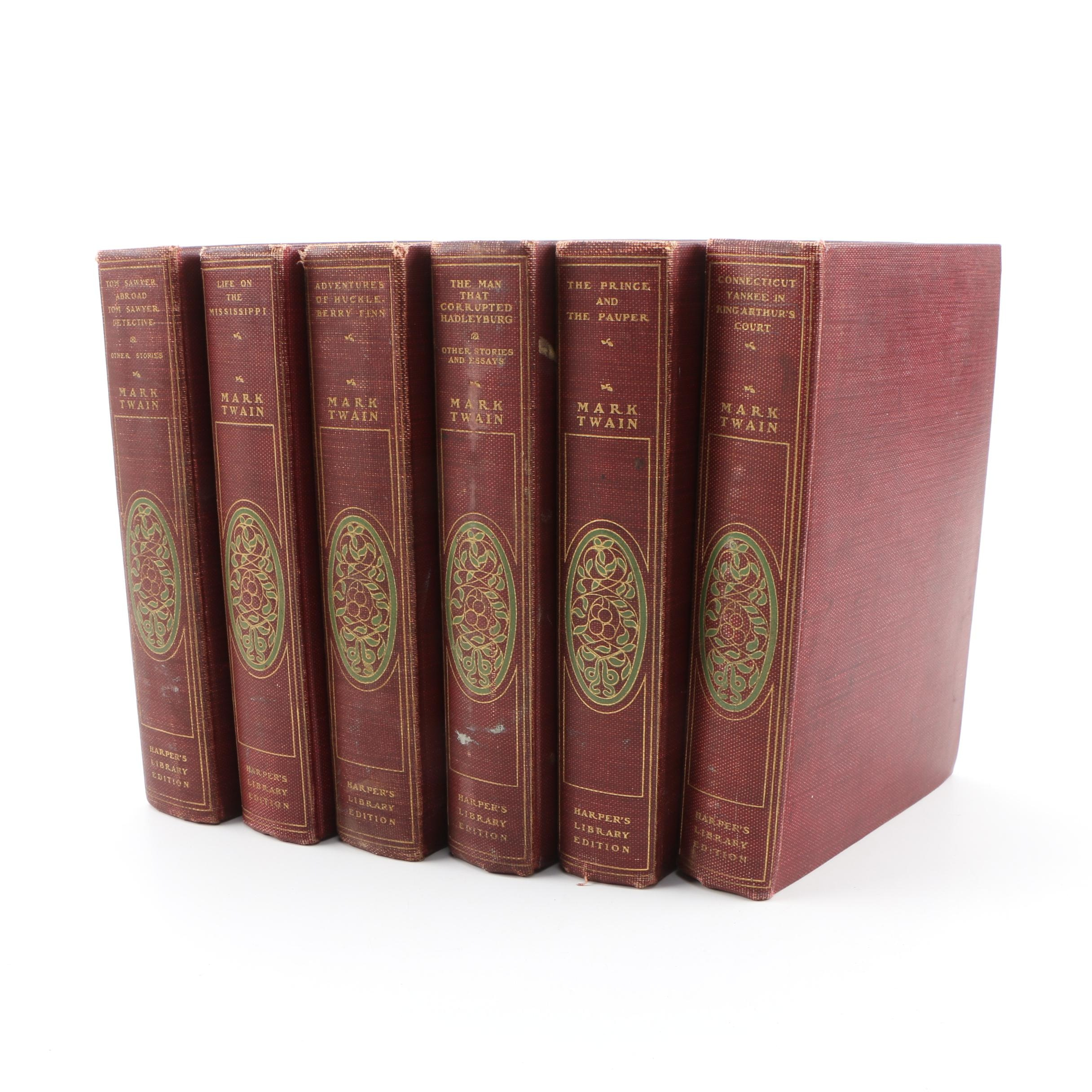 Harper's Library Edition of Mark Twain's Works, 1901
