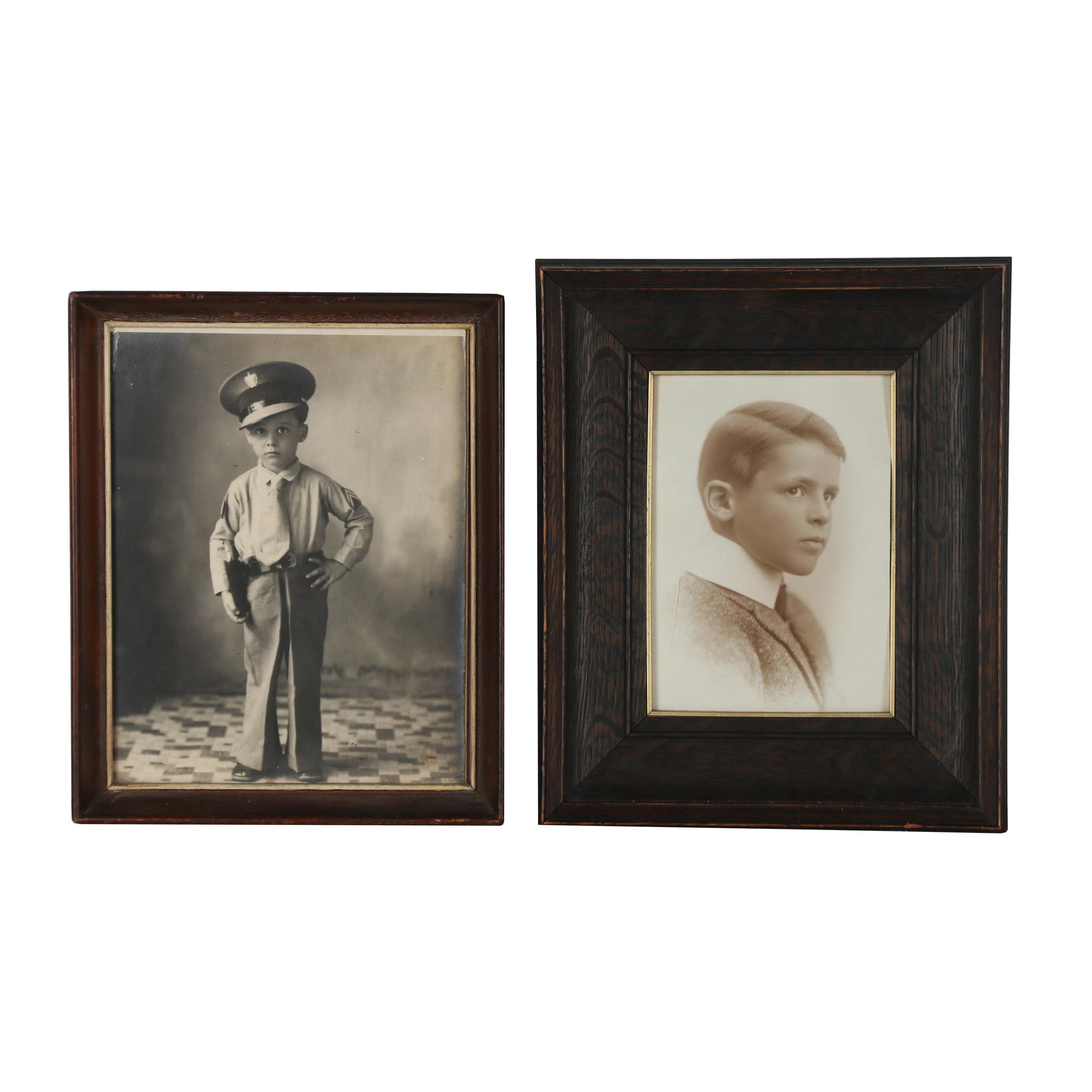 Mid 20th Century Silver Gelatin Portraits