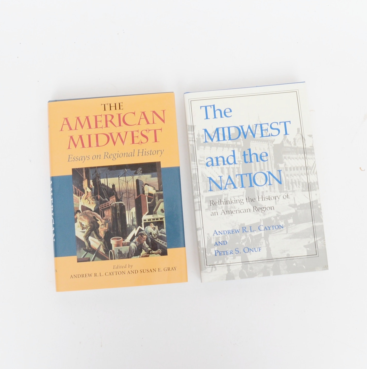 "Signed ""The American Midwest"" and ""The Midwest Nation"", First Editions"