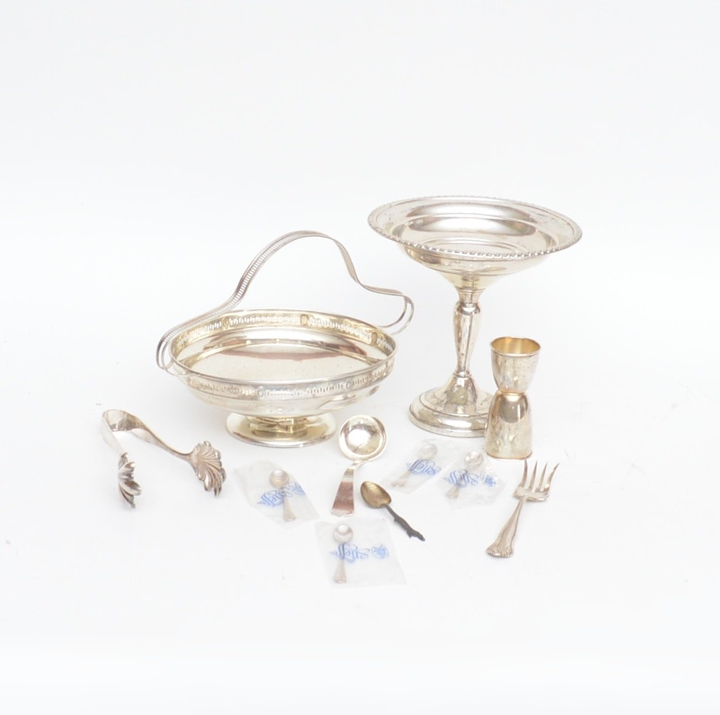 S. Kirk & Son, Stieff, and Gorham Sterling Silver Tableware