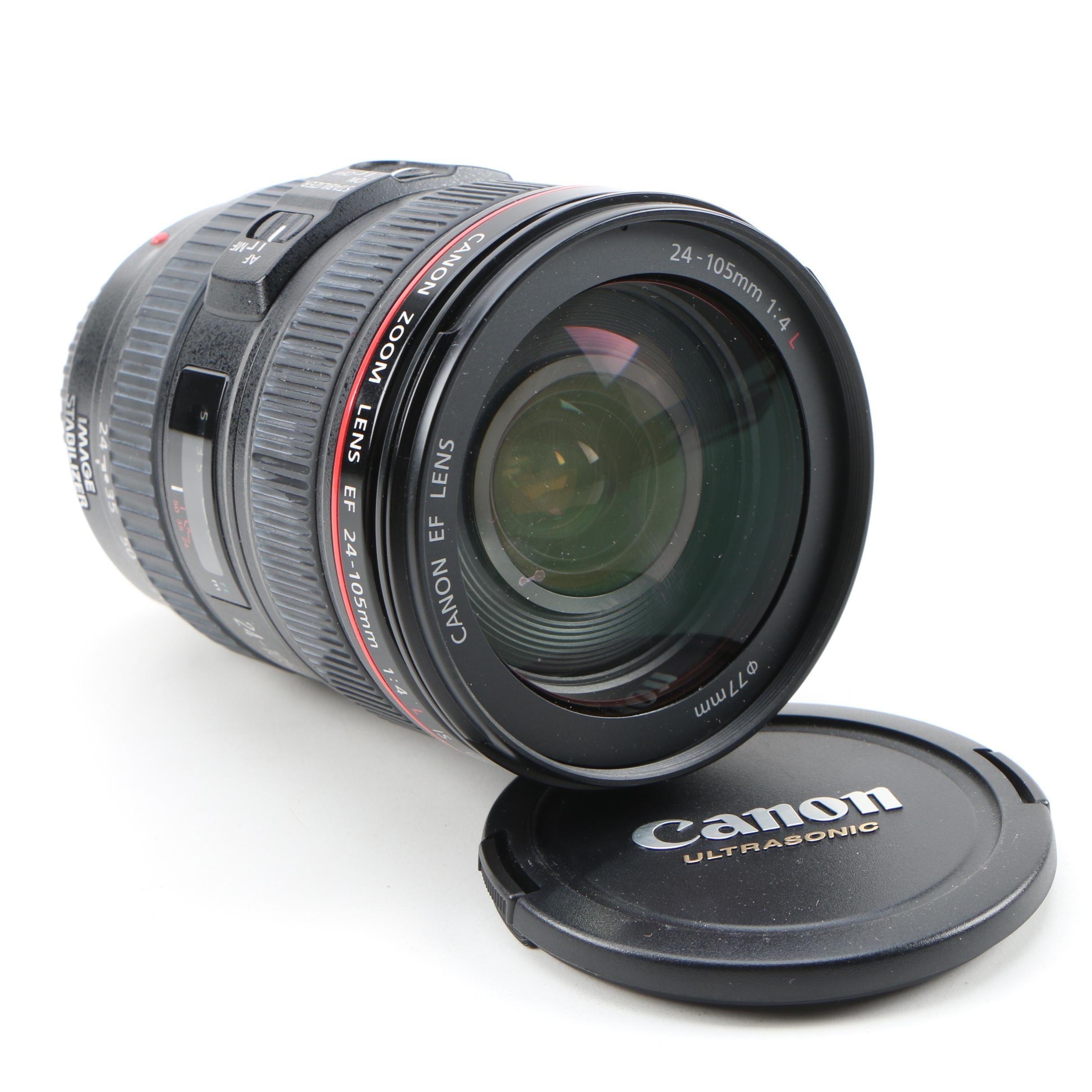 Canon EF 24–105mm f/4 Ultrasonic Macro Lens