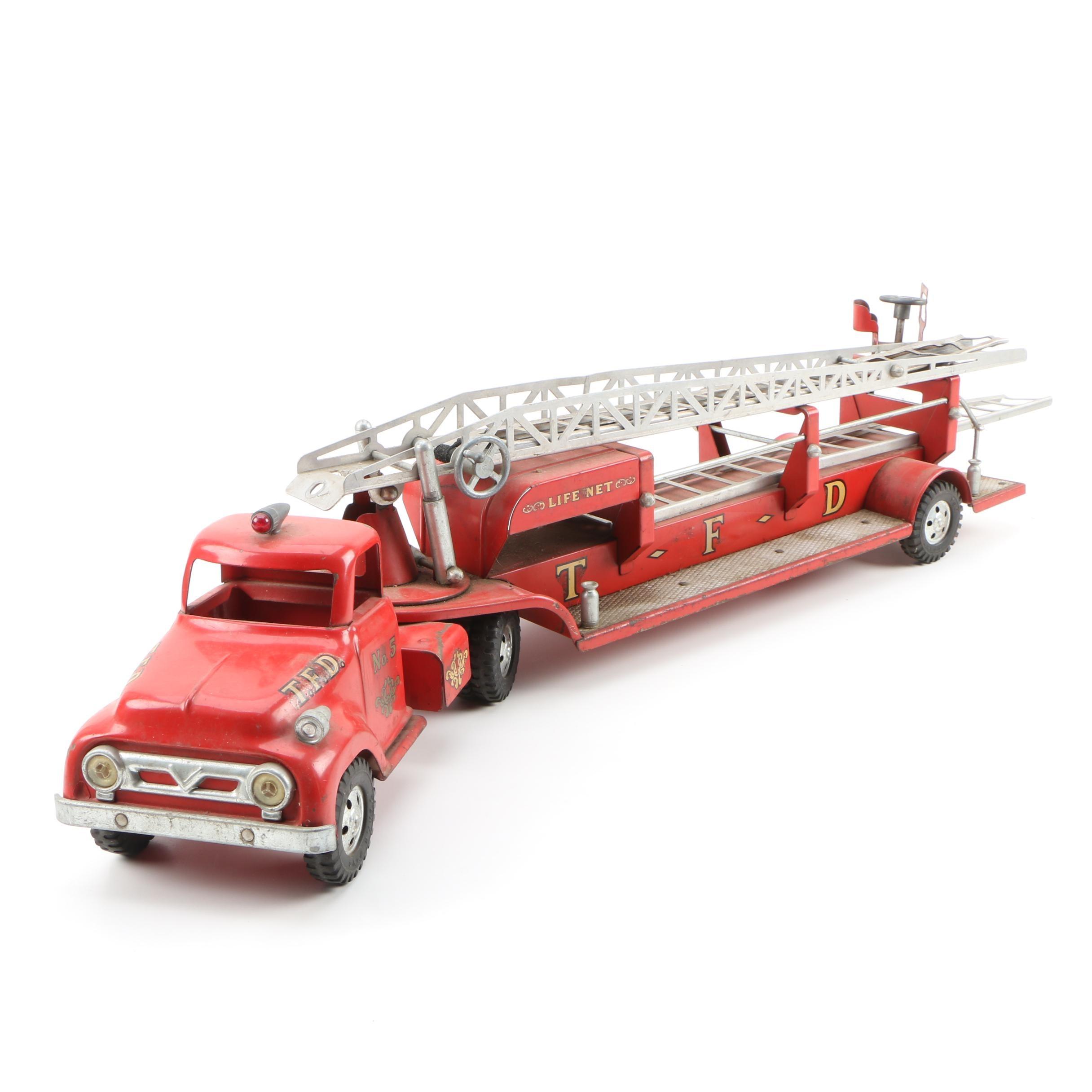 Tonka Toys Life Net #5 Fire Truck