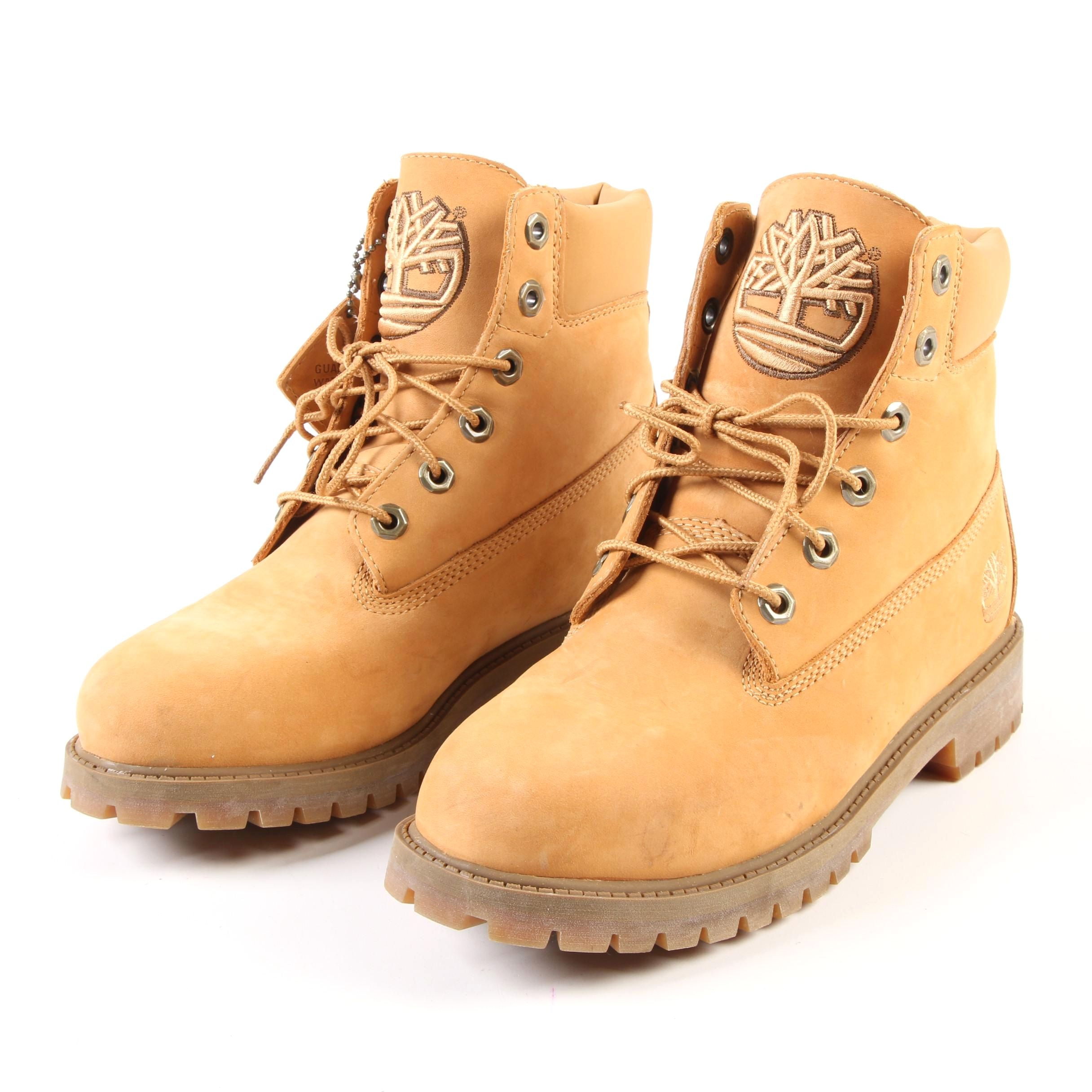 Women's Timberland 22909 Waterproof Leather Lace-Up Boots in Nubuck