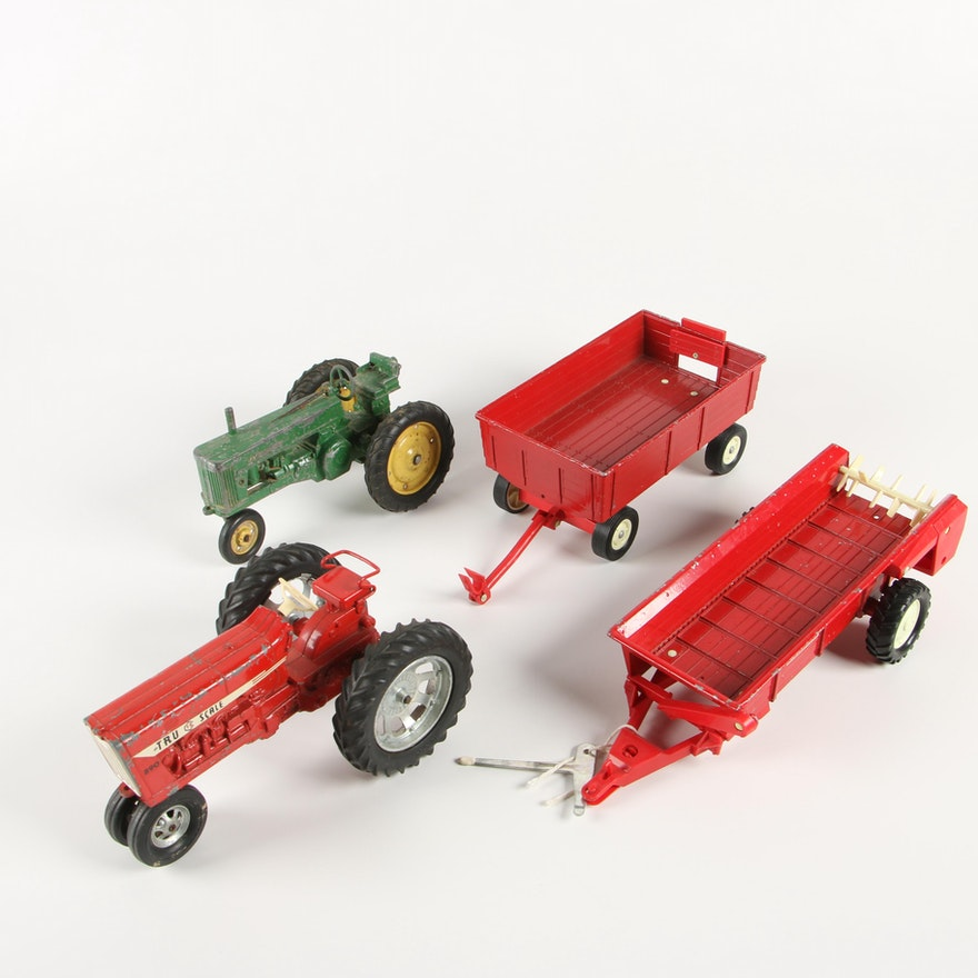 TruScale and ERTL Co. Die-Cast Metal Toy Farm Machinery