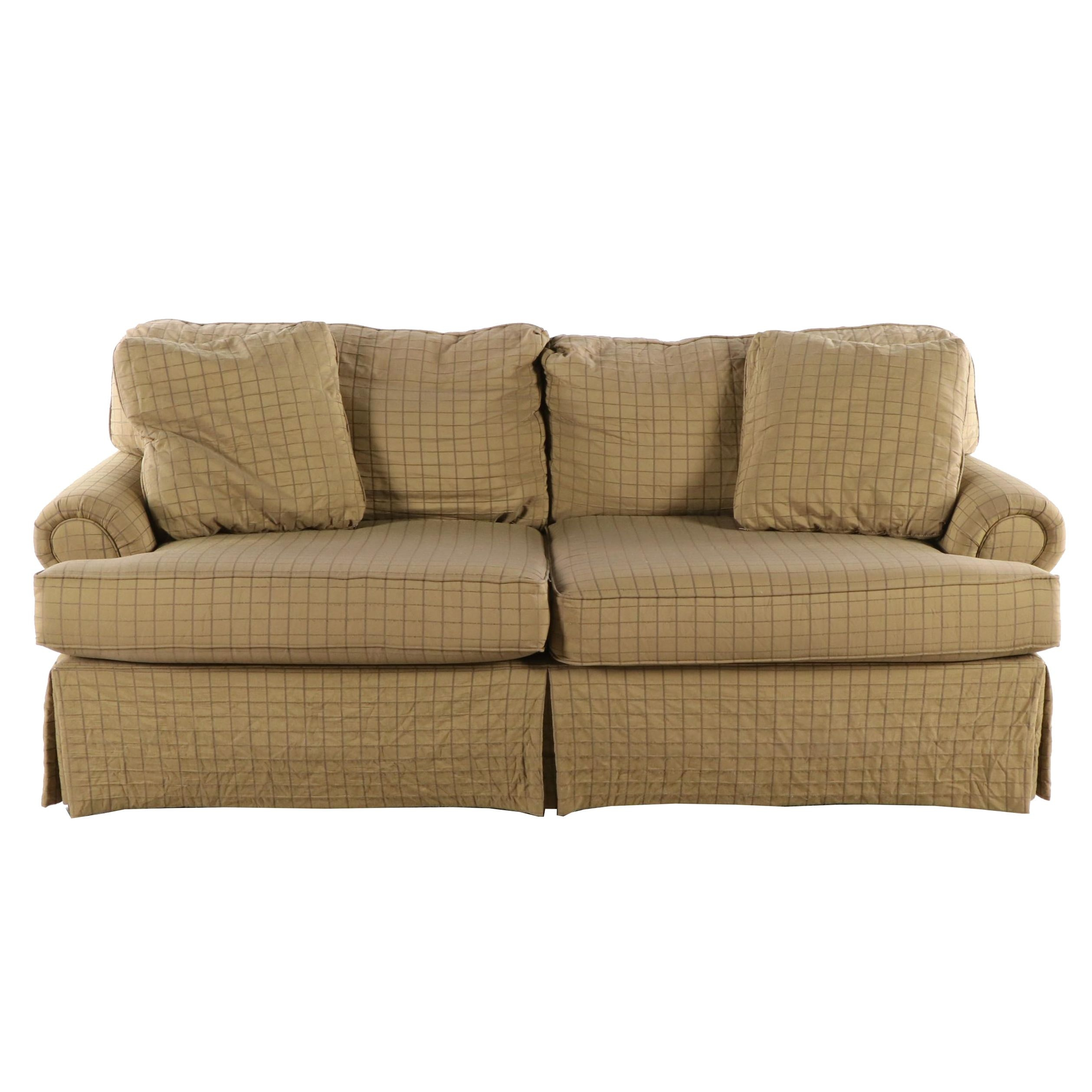 Pennsylvania House Upholstered Down Sofa, 21st Century