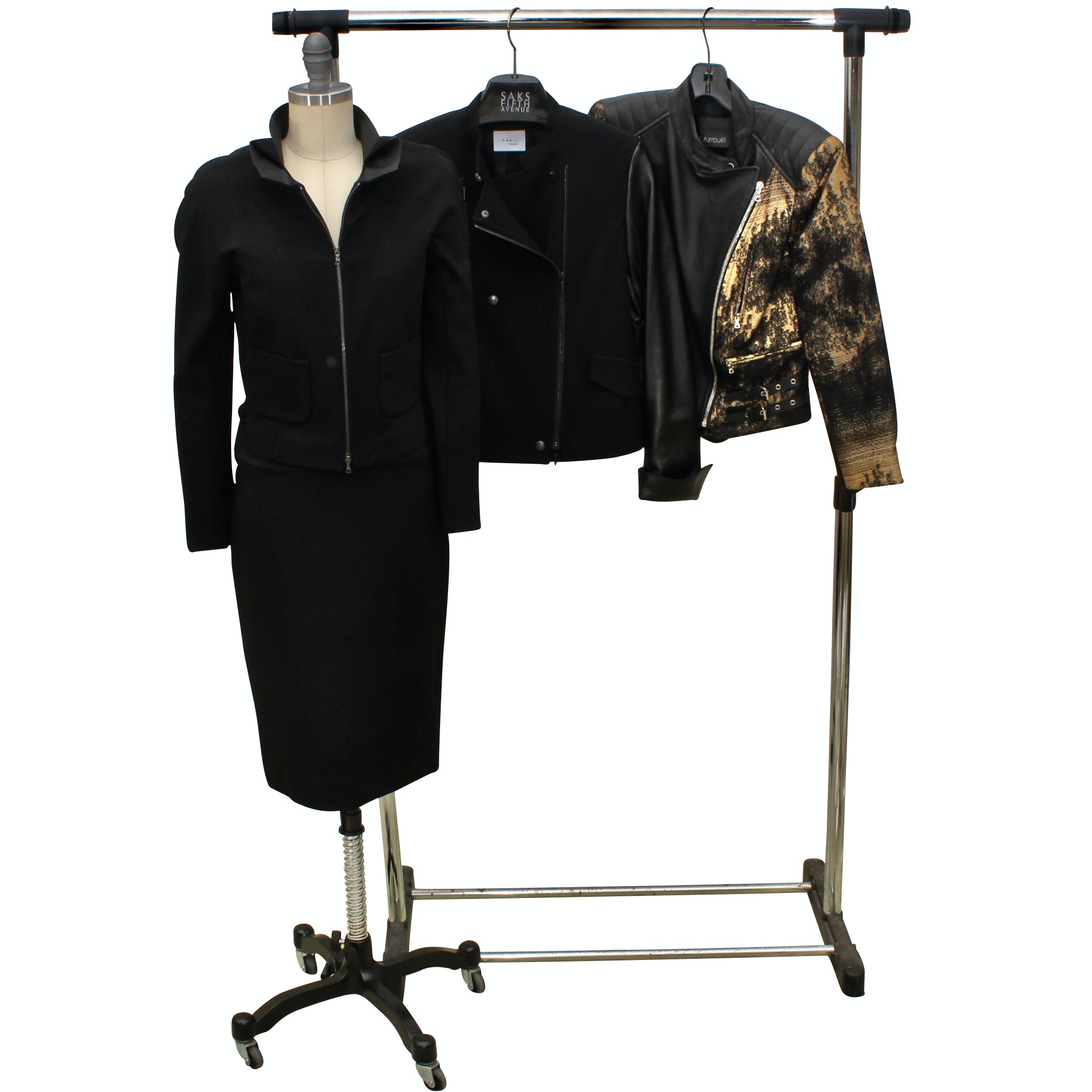 Women's Outerwear and Separates Including Yigal Azrouel, Akris and Lida Baday