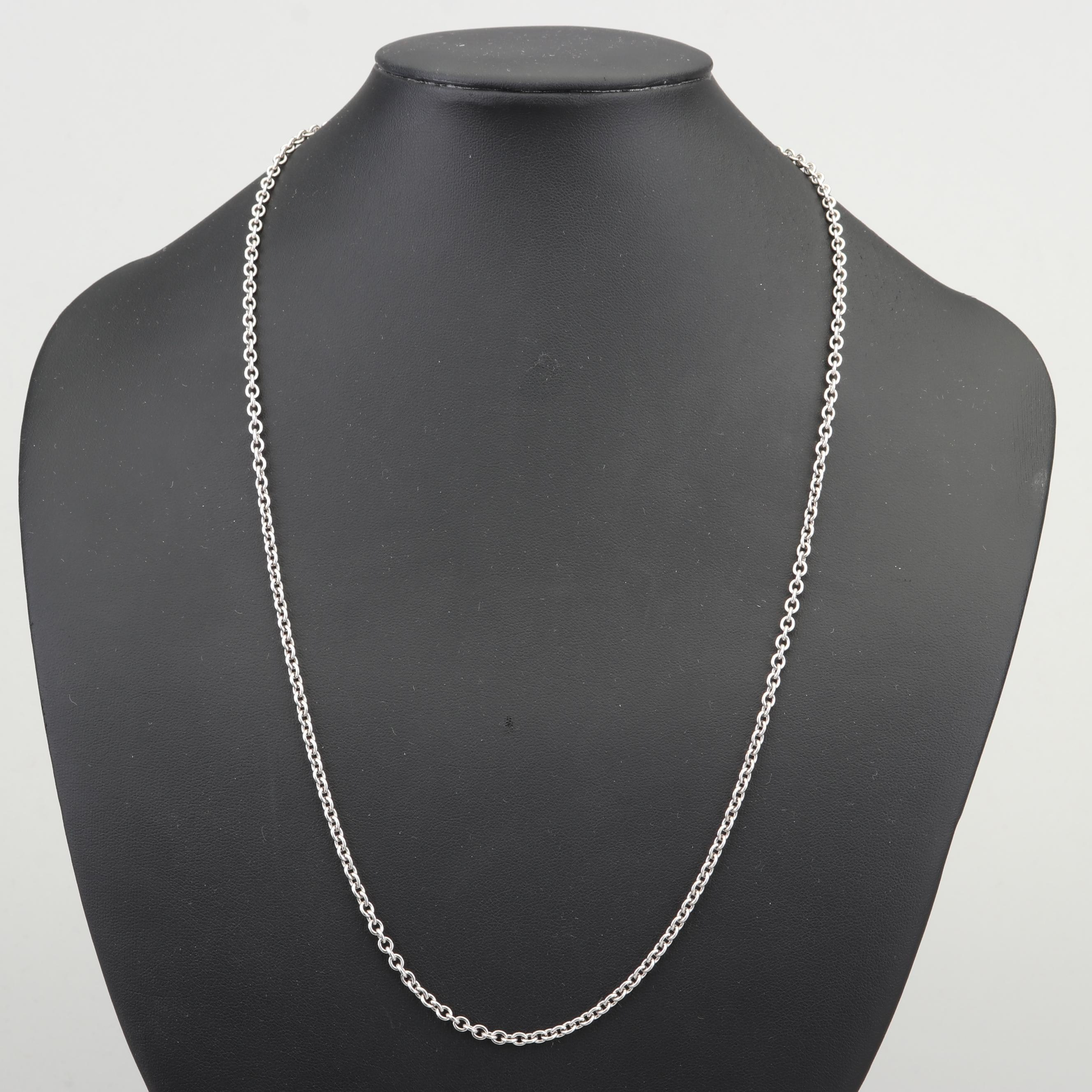 James Avery Sterling Silver Rolo Chain Necklace