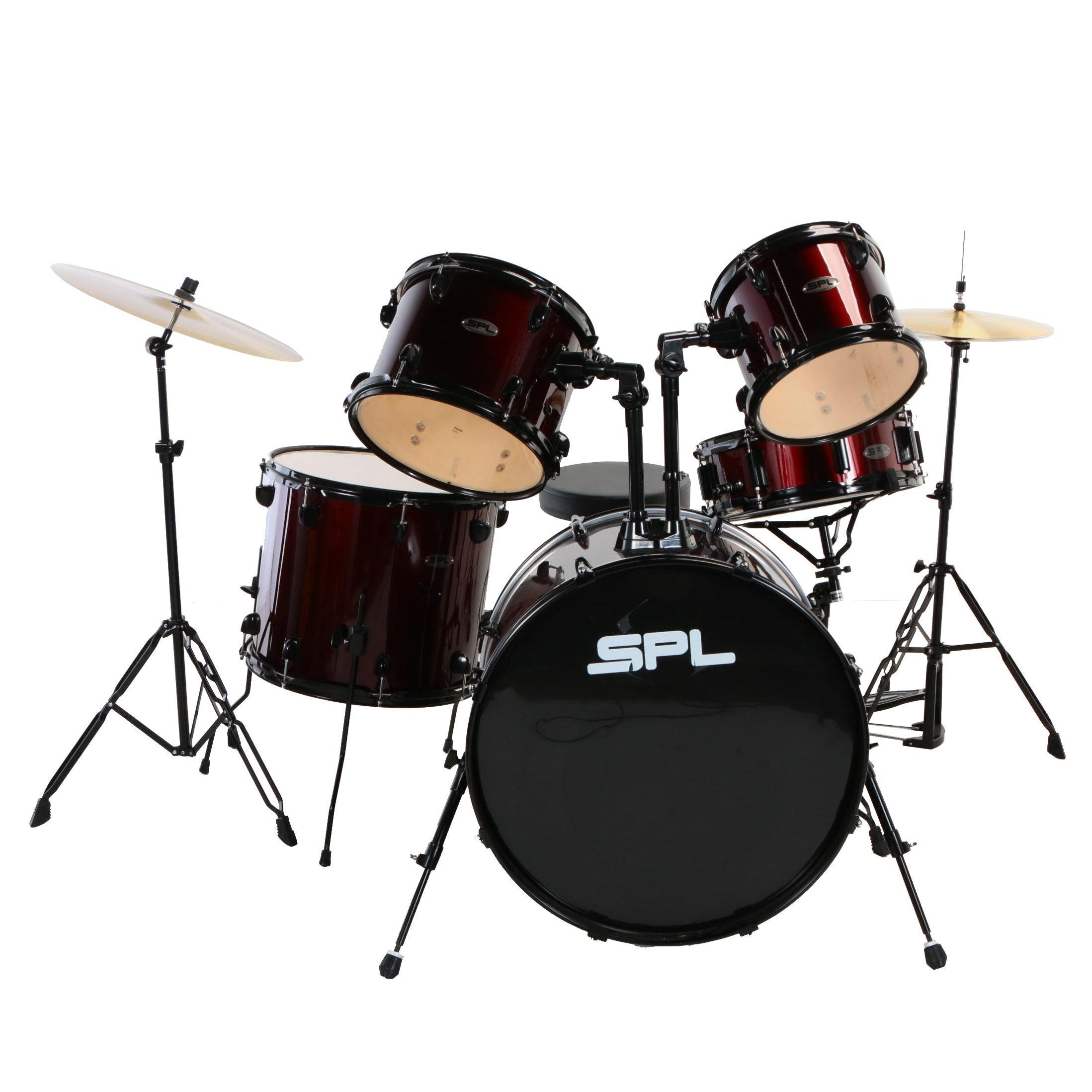 SPL Five Piece Drum Set