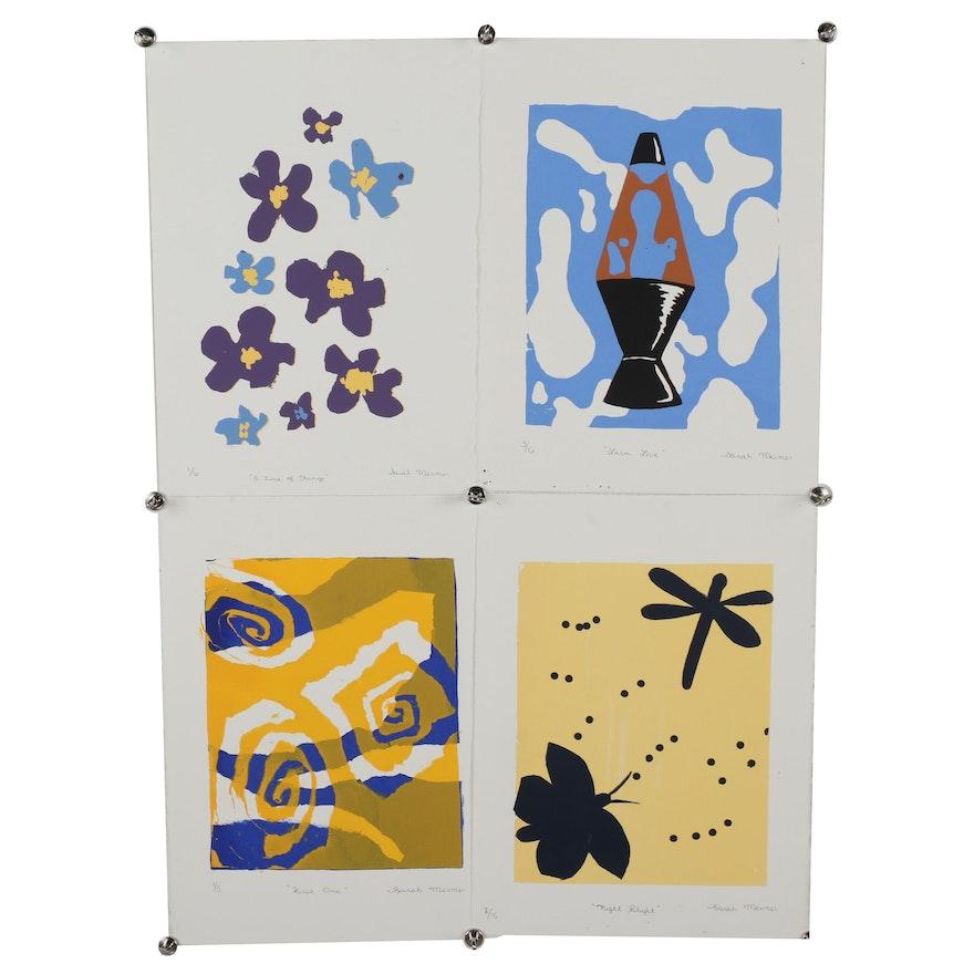 Sarah Mermer Serigraphs including