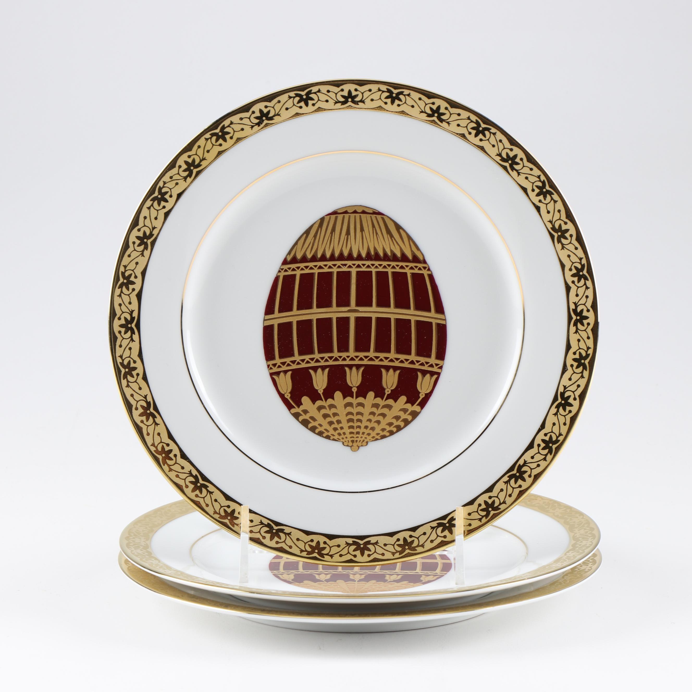"Muirfield Porcelain ""Celebrity"" Salad Plates"