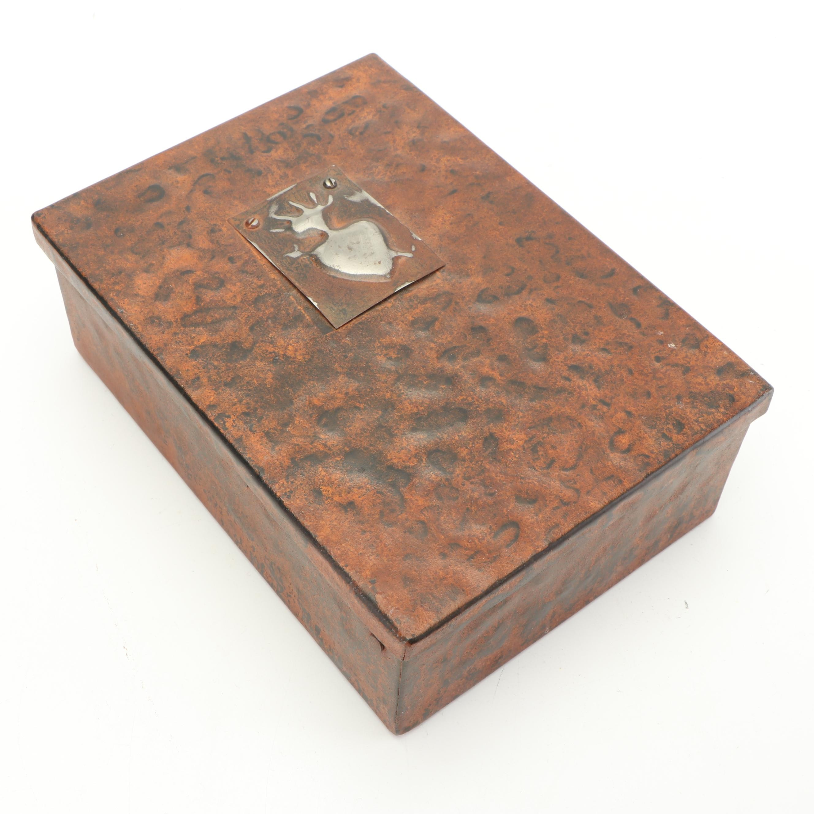 Jan Barboglio Hand Wrought Metal Box