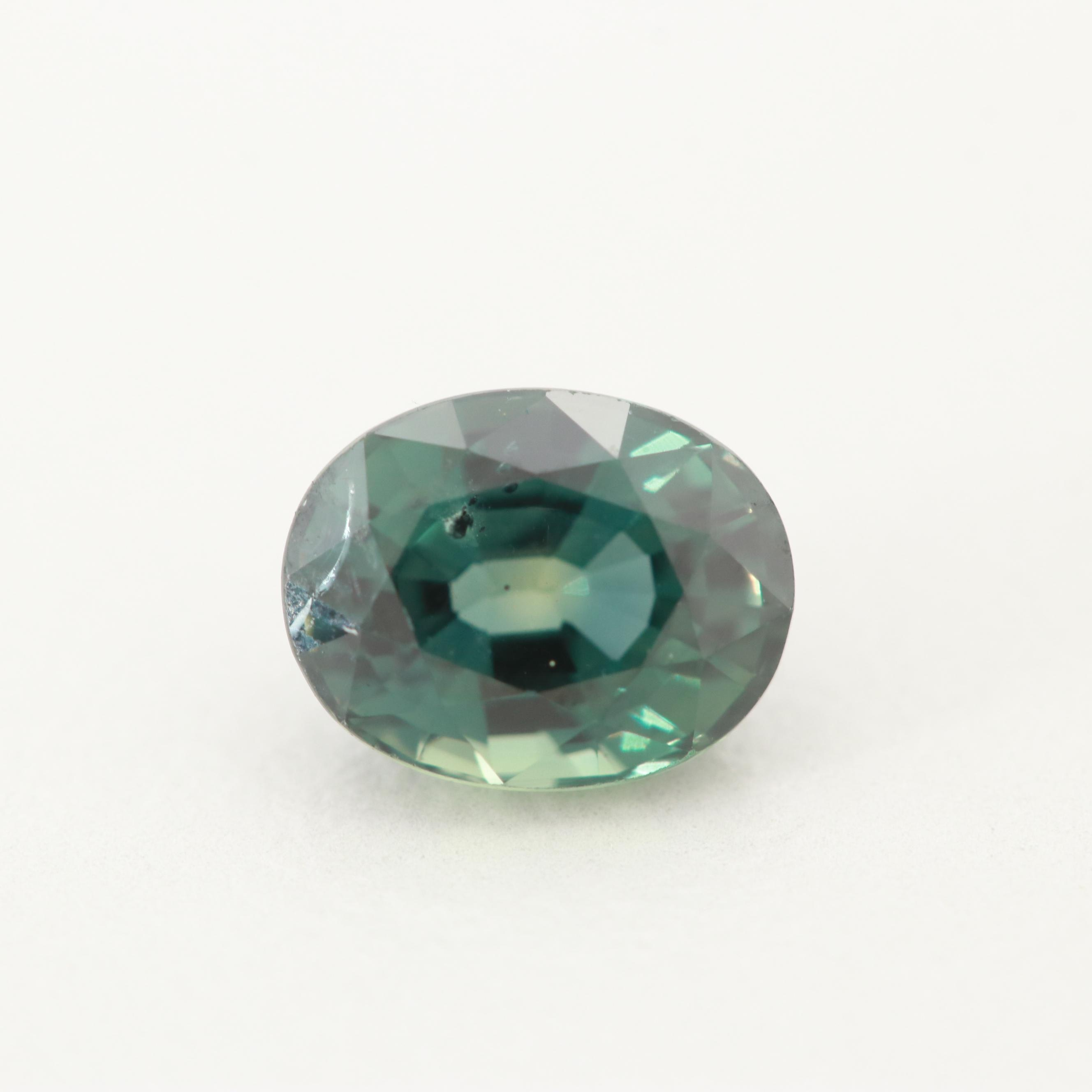 Loose Unheated 1.42 CT Color Shift Sapphire Gemstone