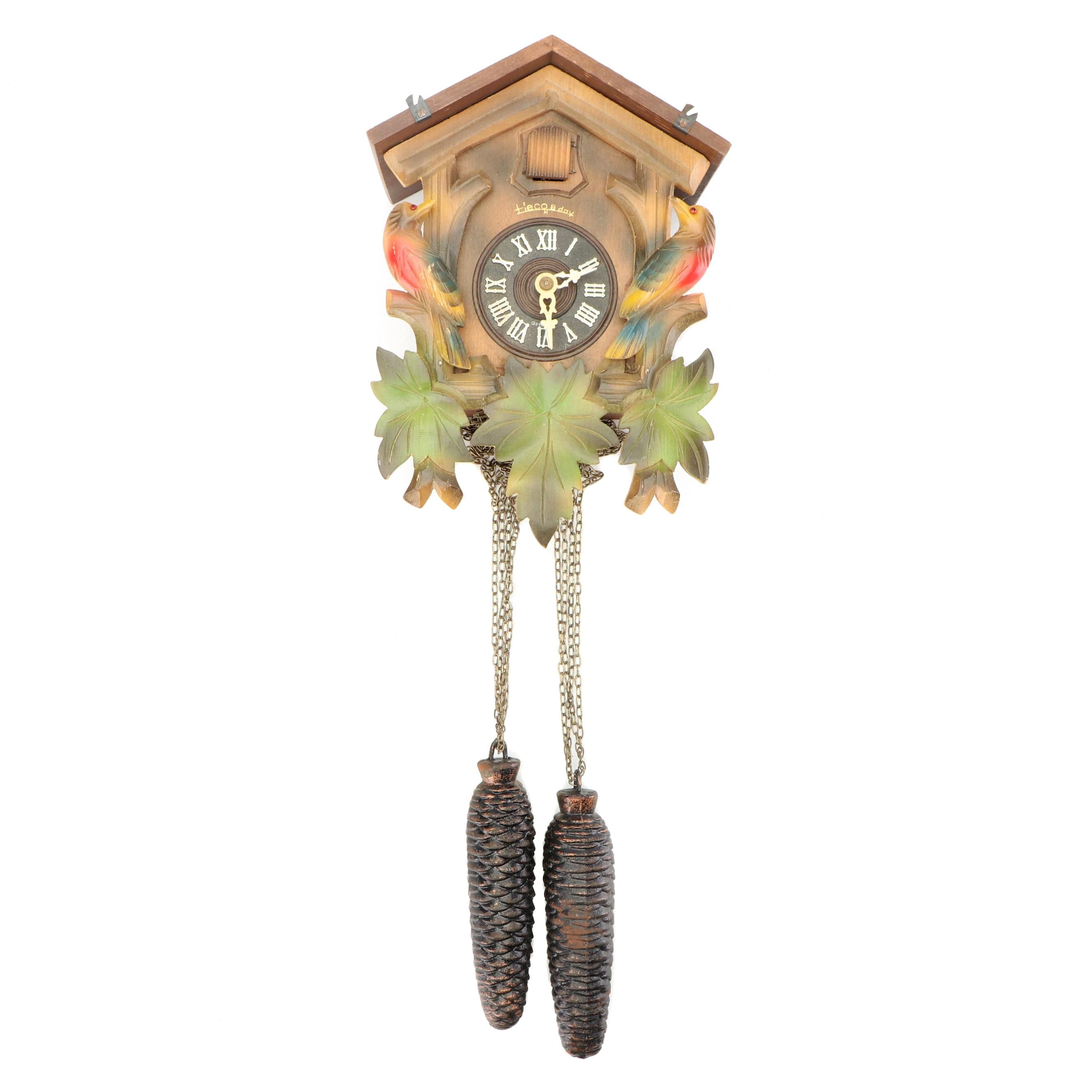 German Heco 8 Day Cuckoo Clock