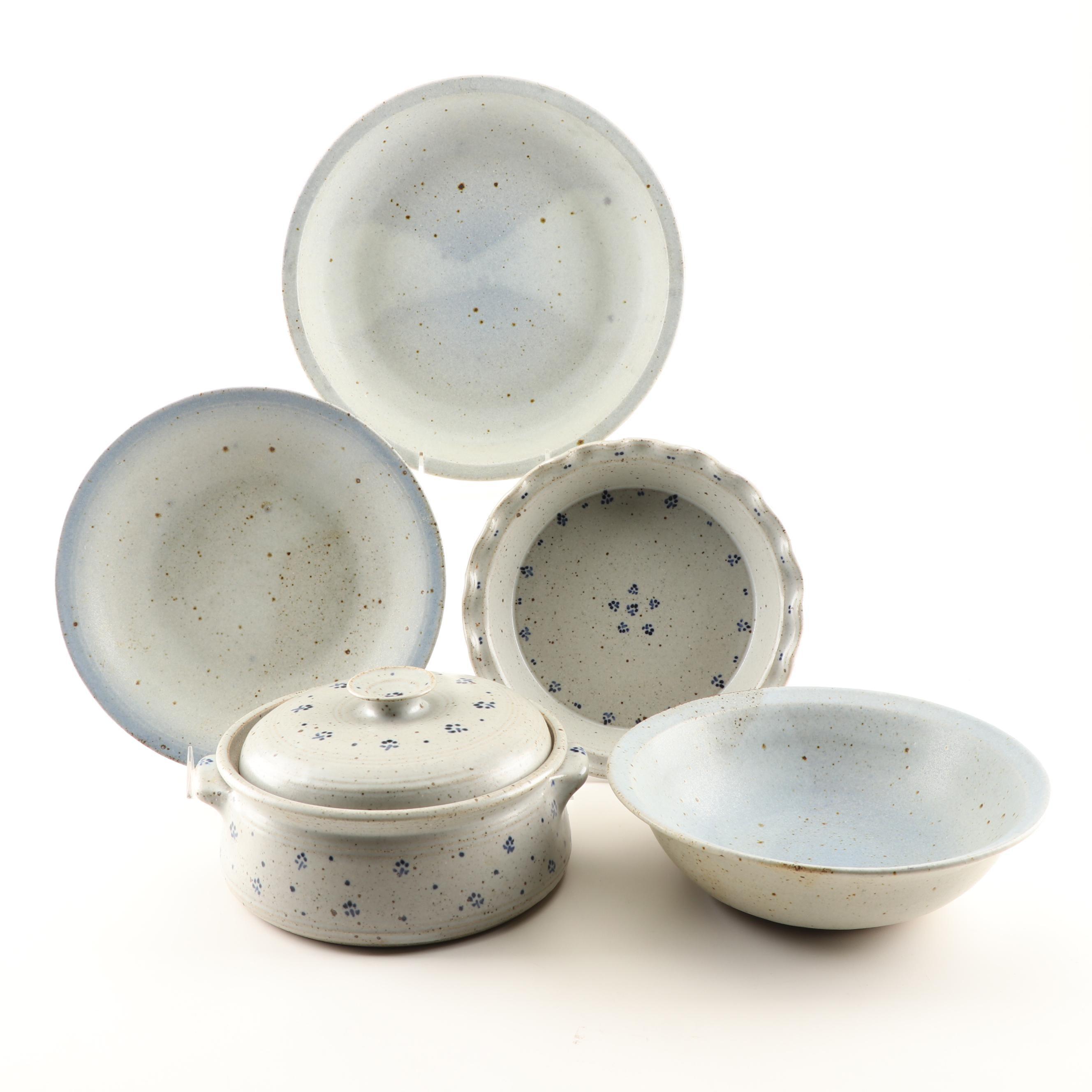 Wheel Thrown Stoneware Serveware