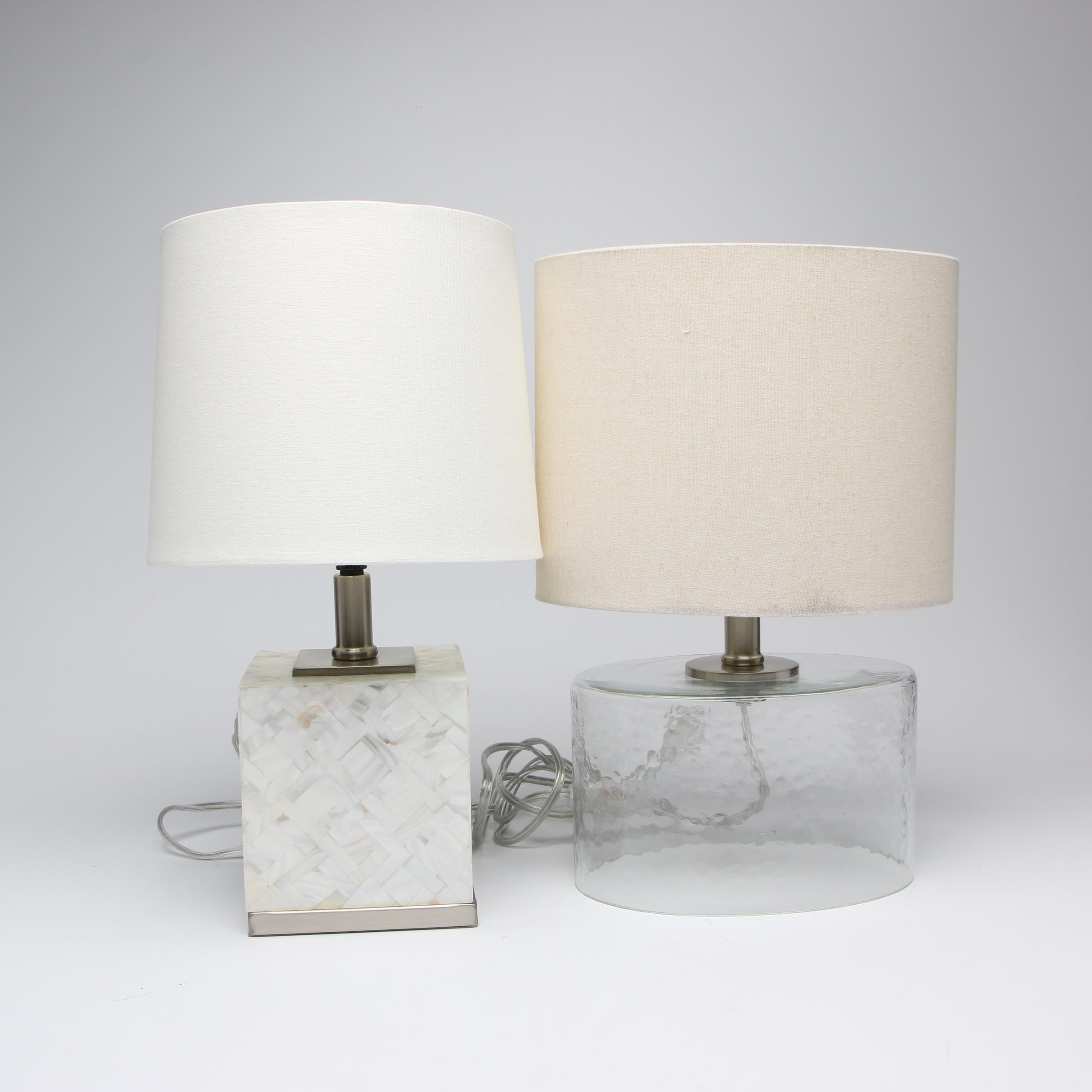 Pair of Table Lamps, Contemporary