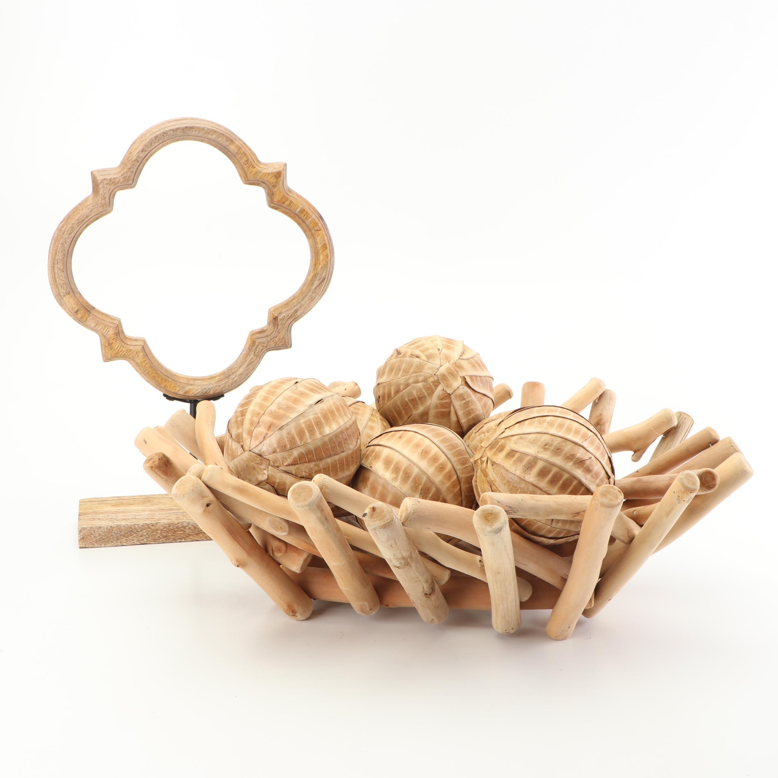 Wooden Home Décor Collection