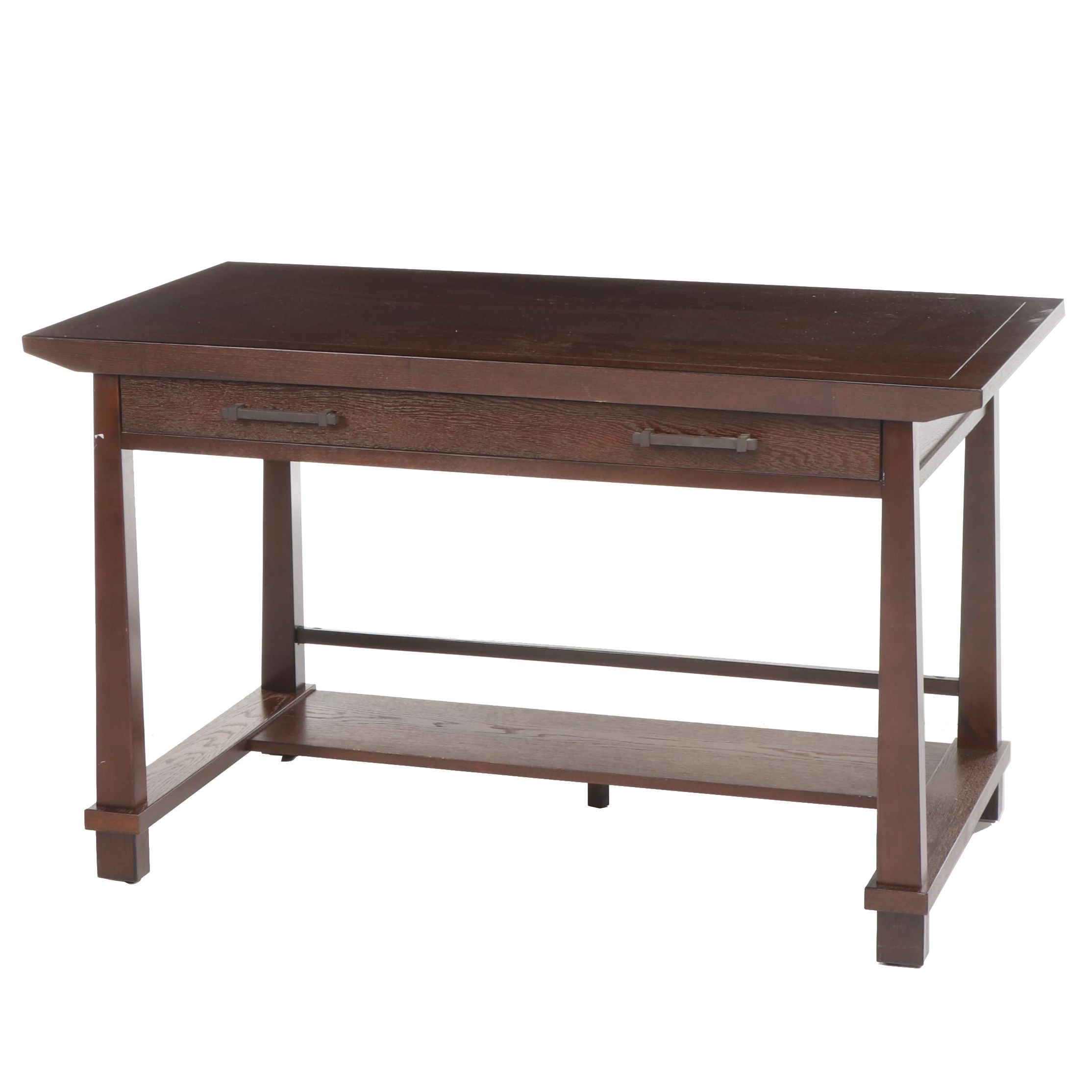Contemporary Oak Writing Desk