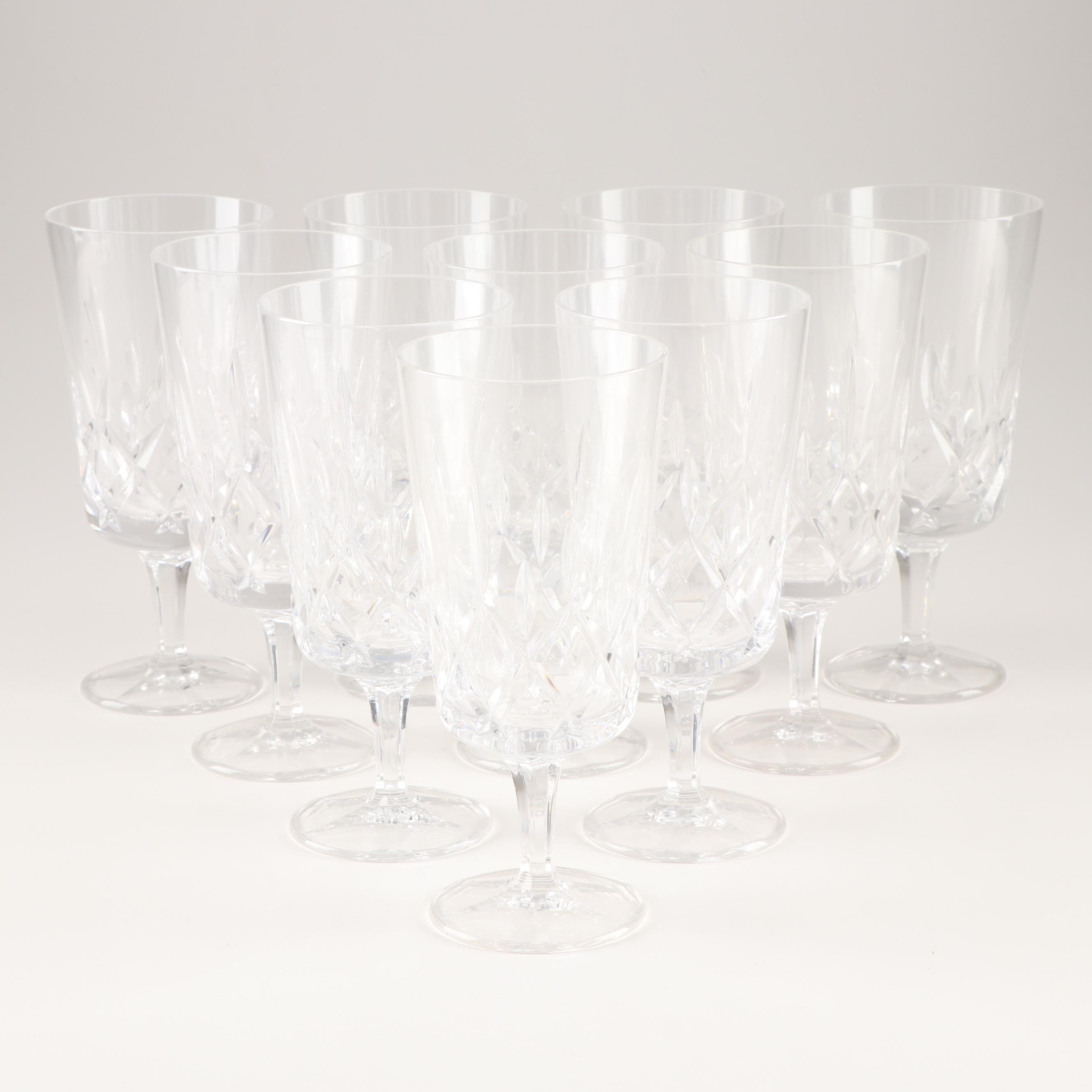 """Gorham """"King Edward"""" Water Goblet Grouping"""