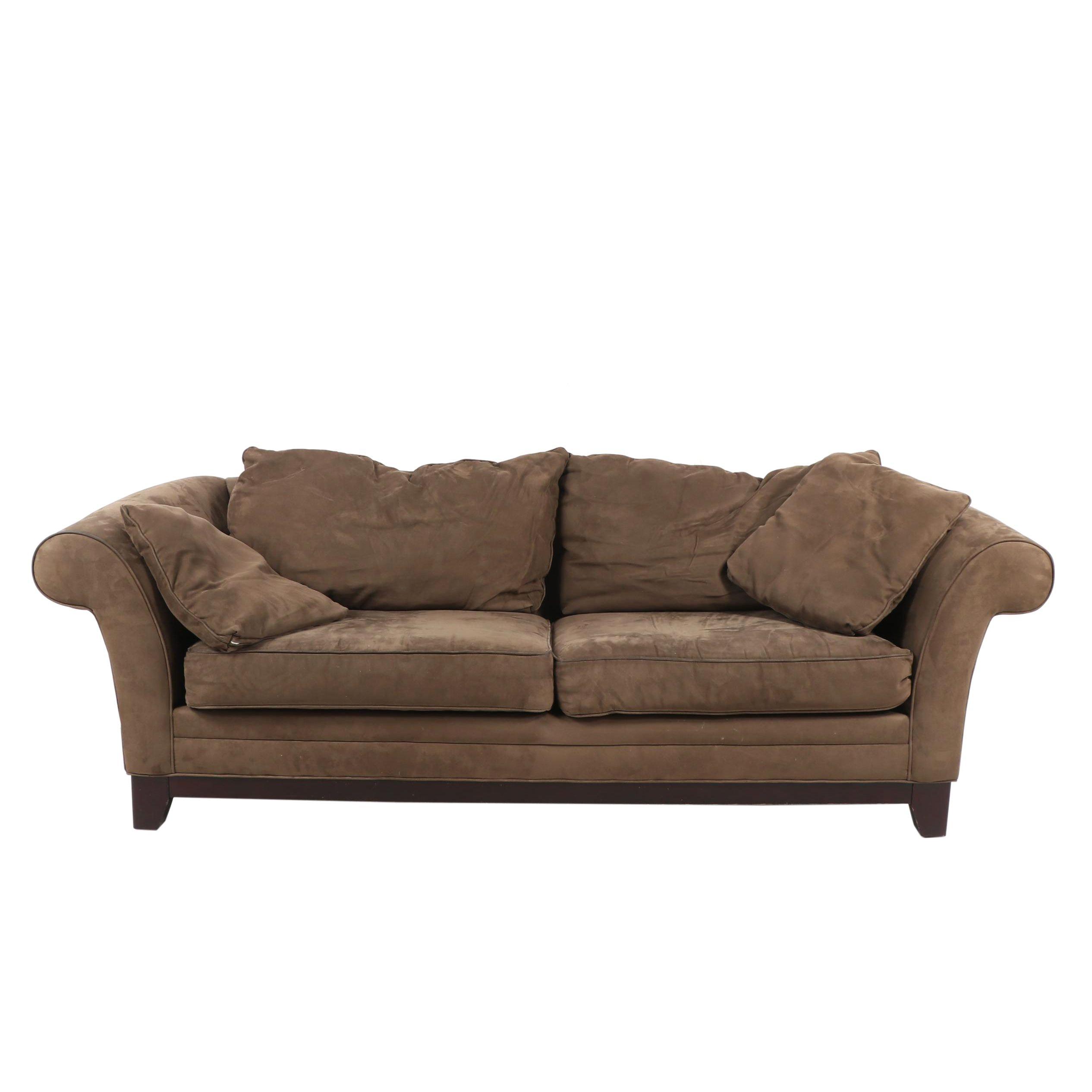 Contemporary Bauhaus Furniture Mircrofiber Sofa