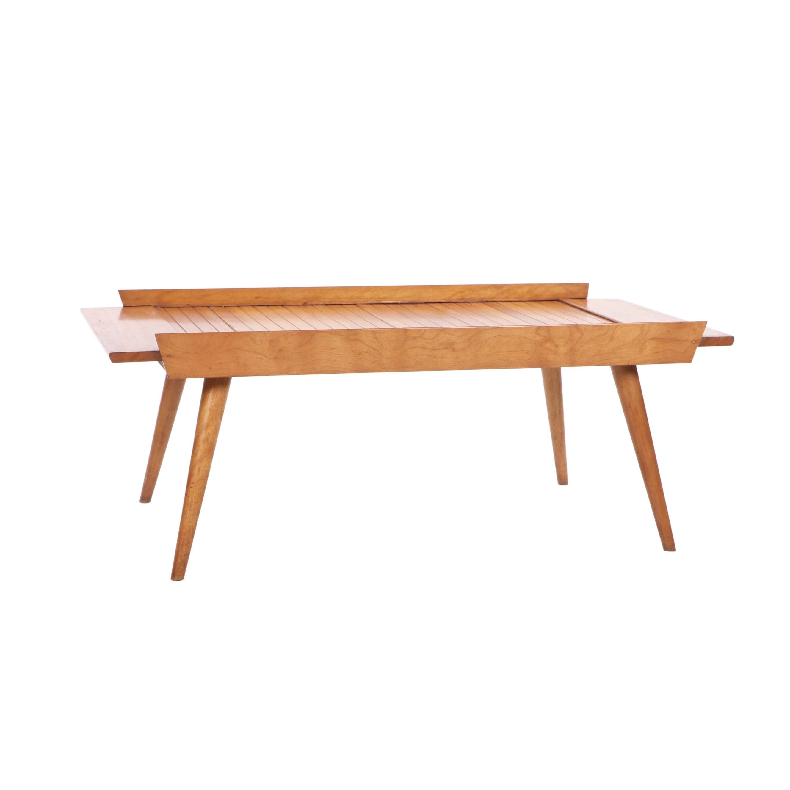 Mid Century Modern Birch Coffee Table