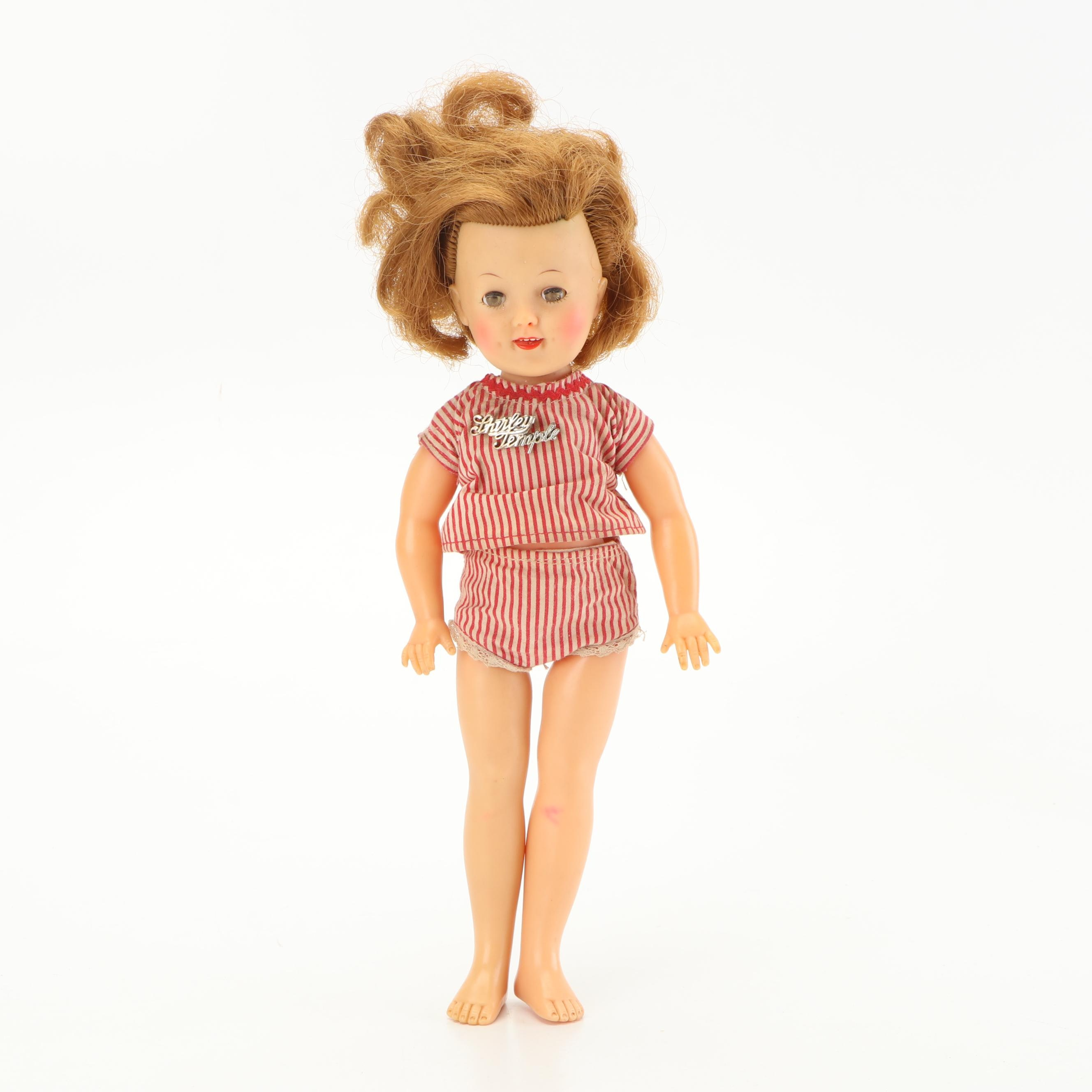 """Ideal """"Shirley Temple"""" Doll, circa 1950"""