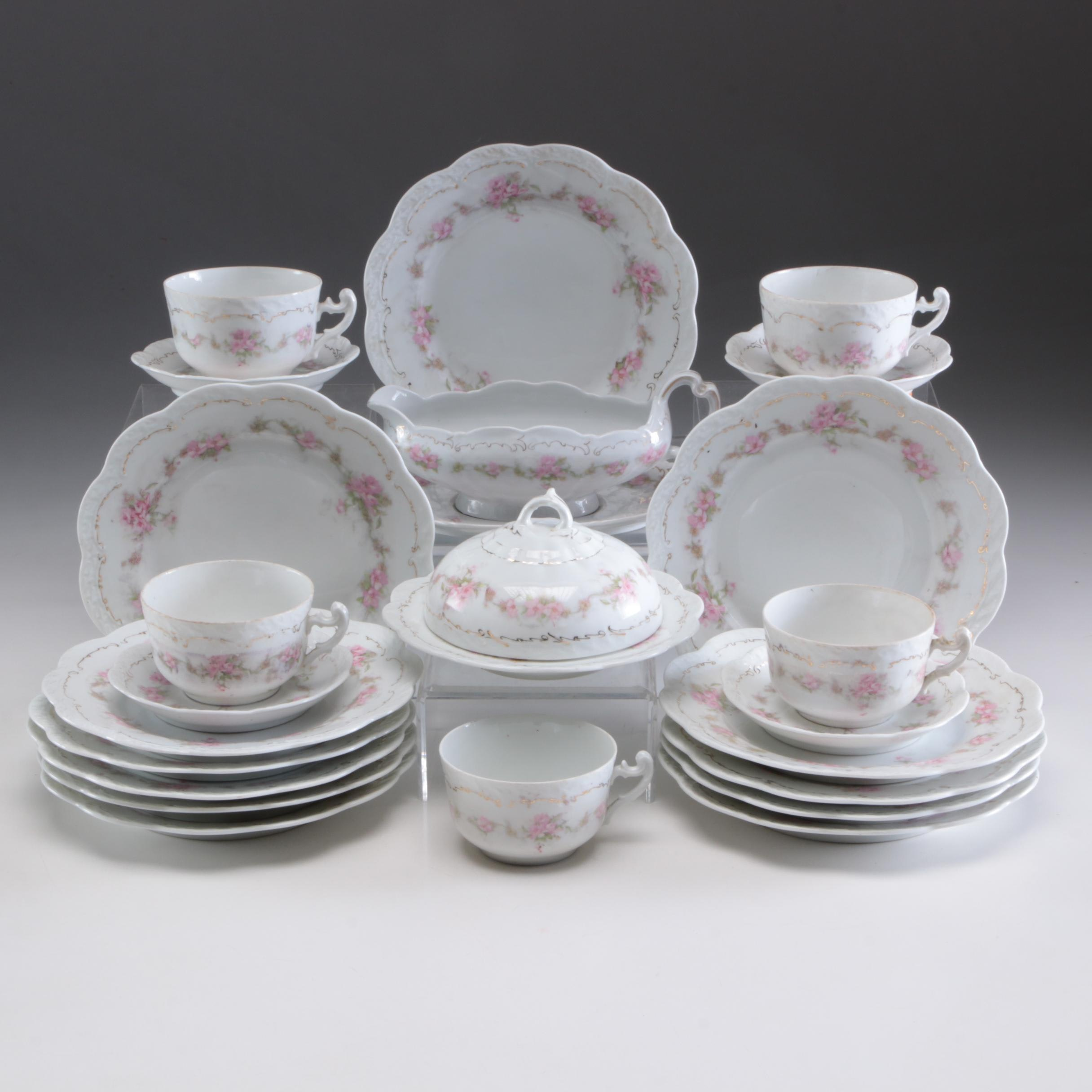 F.B. & Co. St. Regis Porcelain Dinnerware, Early to Mid-20th Century