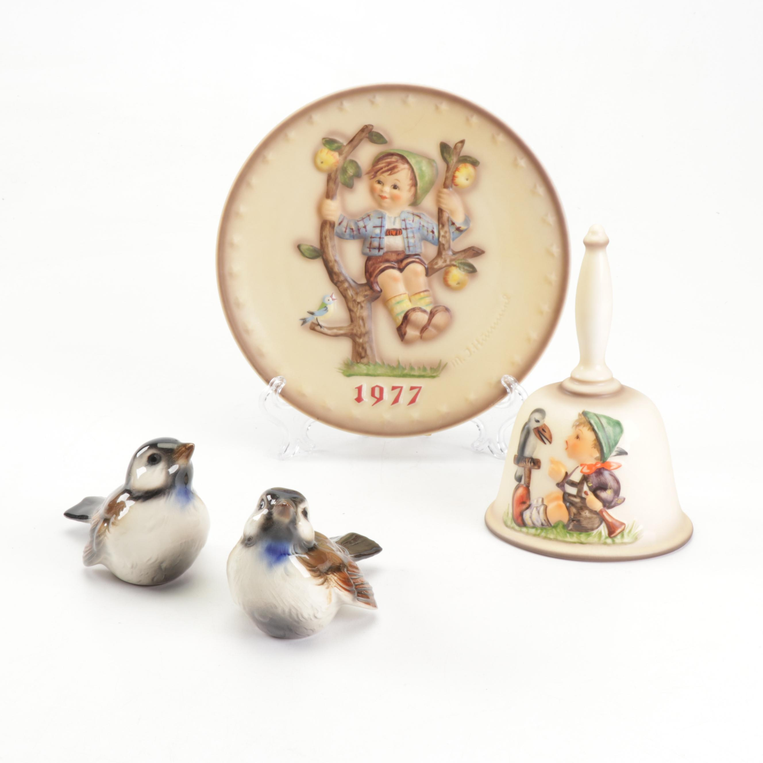 Hummel Goebel Porcelain Figurines and Decor